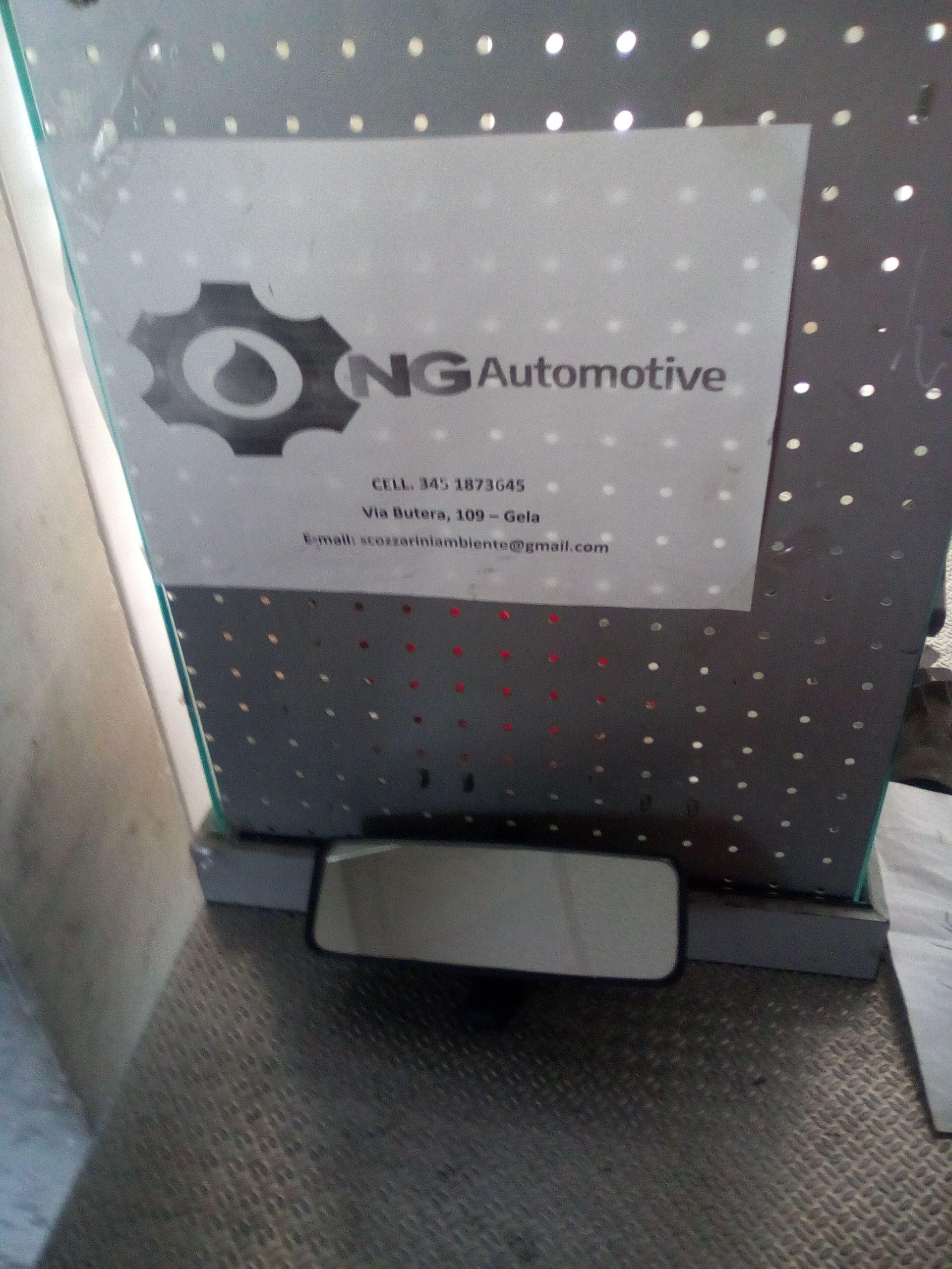 0143741 SPECCHIO RETROVISORE INTERNO FIAT Idea 2° Serie 1200 Benzina  (2005) RICAMBI USATI