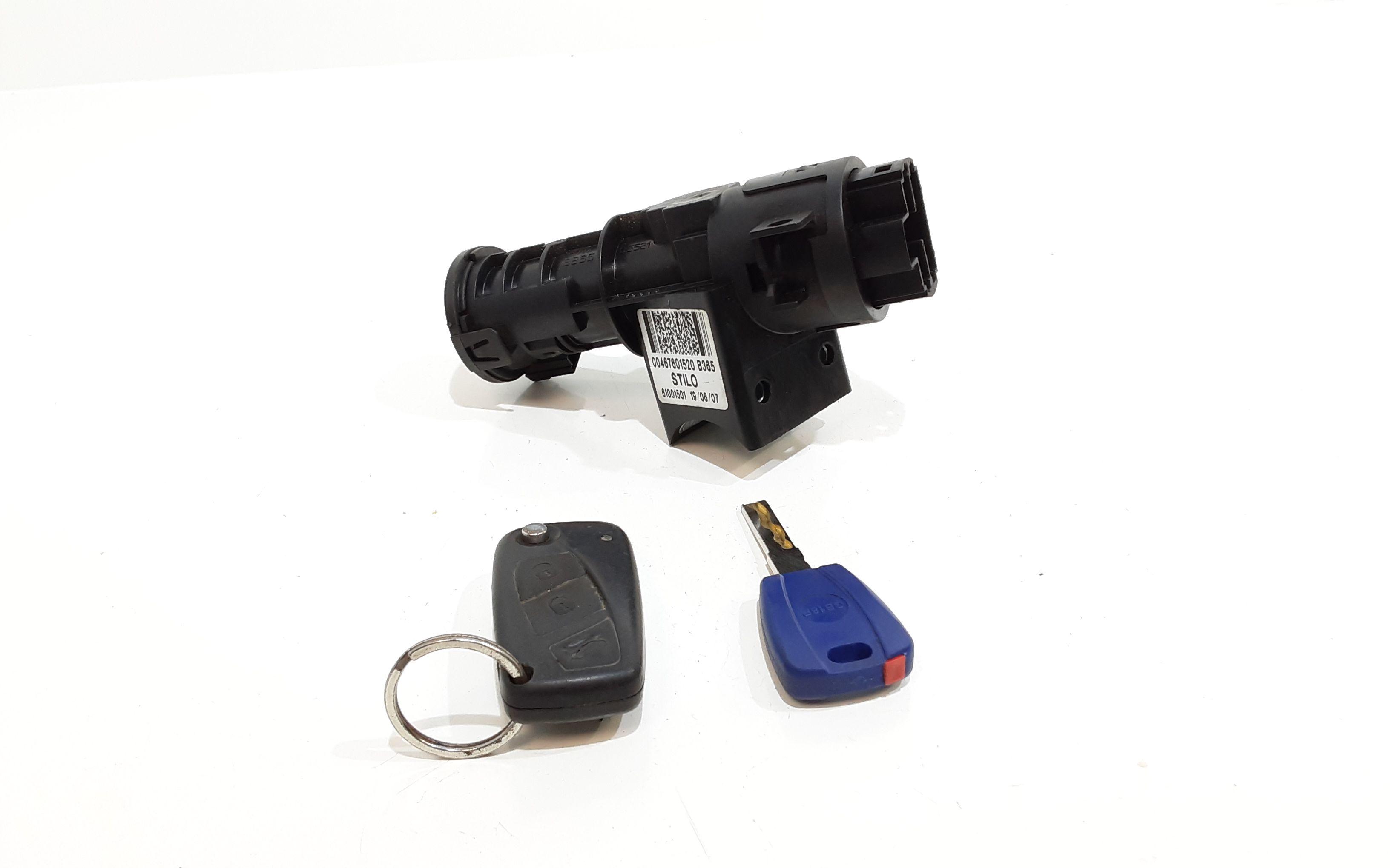 00467601520 BLOCCHETTO ACCENSIONE FIAT Idea 2° Serie 1300 Diesel  (2006) RICAMBI USATI