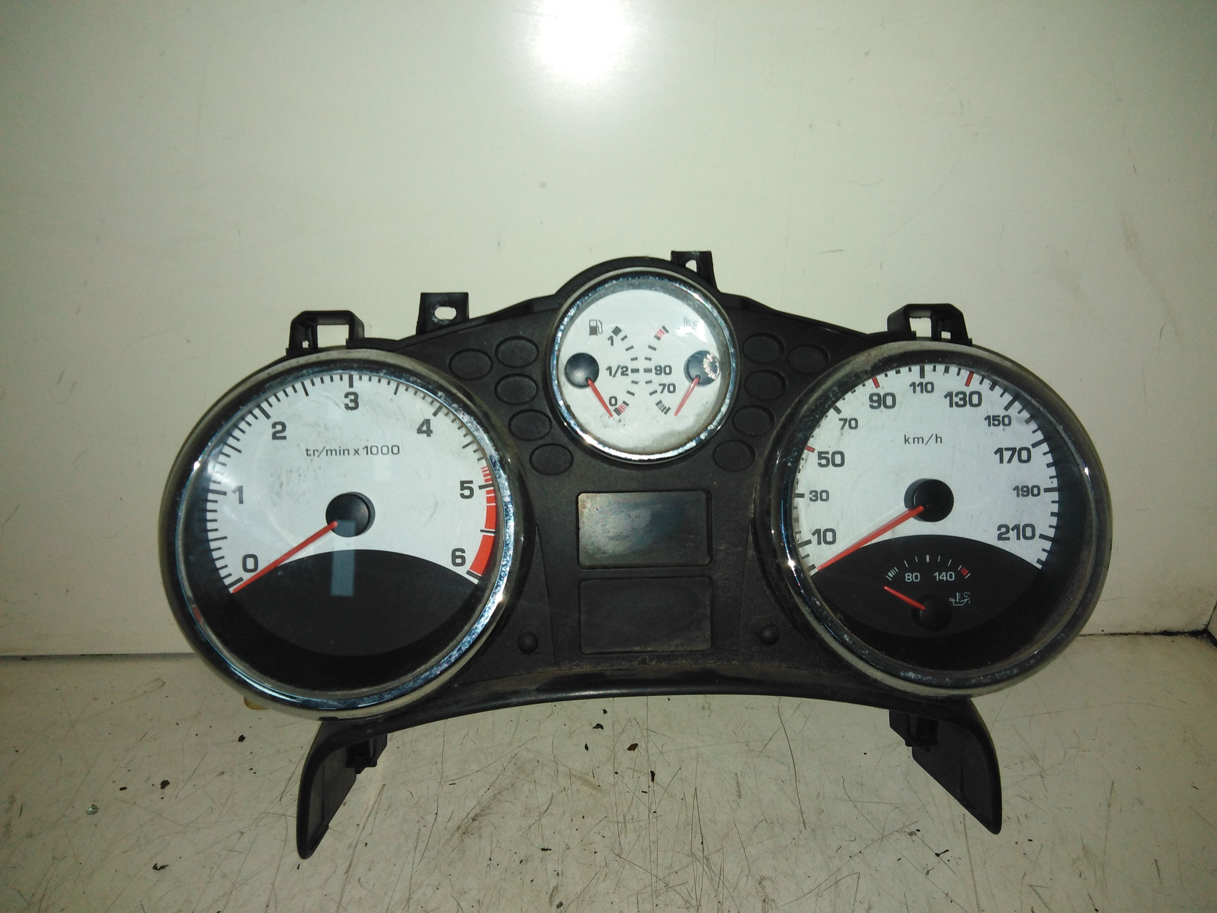 CONTACHILOMETRI PEUGEOT 207 1° Serie 1600 Diesel (2008) RICAMBI USATI