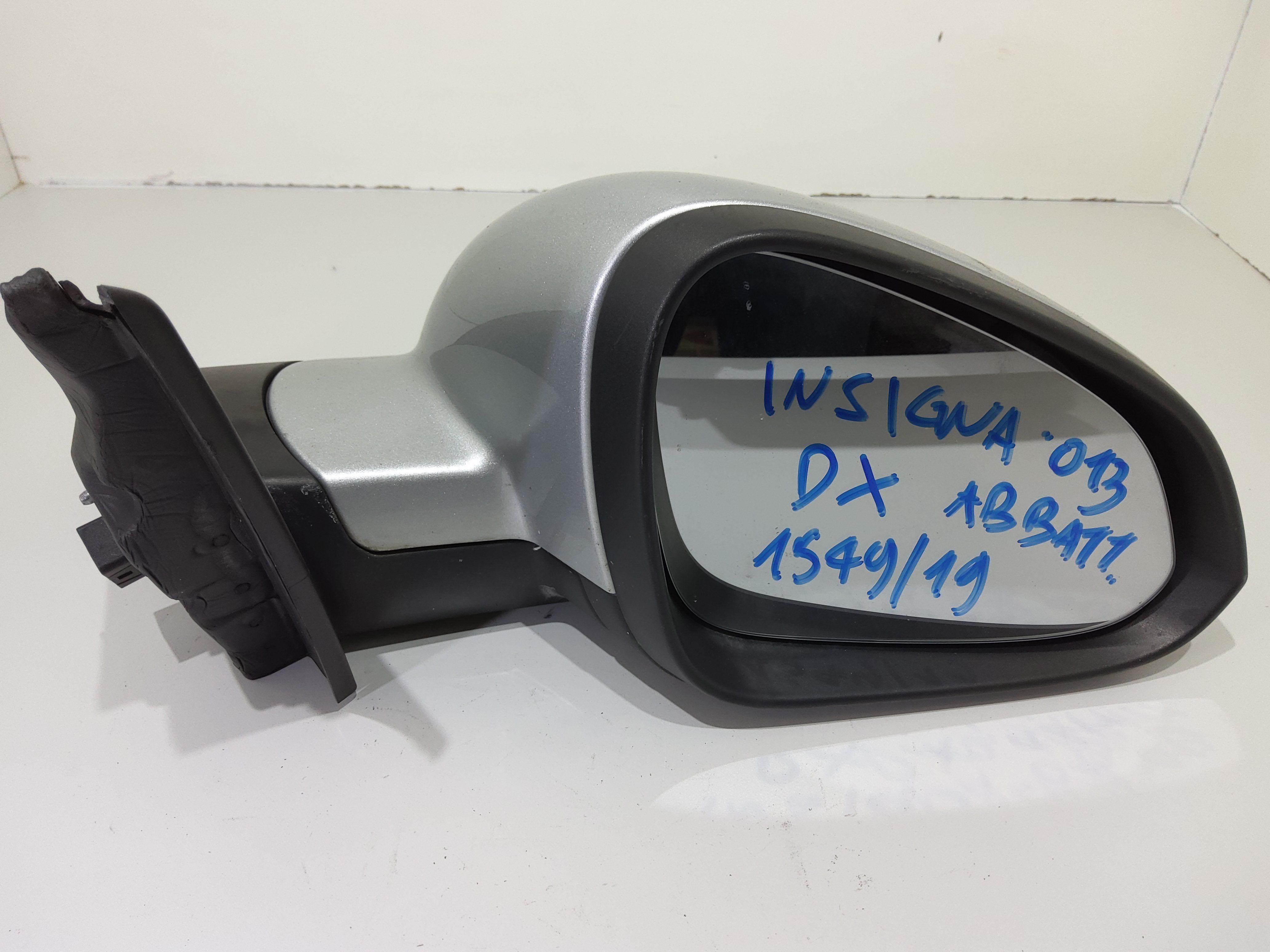 13269577 SPECCHIETTO RETROVISORE DESTRO OPEL Insignia S. Wagon 2000 Diesel A20DTH 118 Kw (2013) RICAMBI USATI
