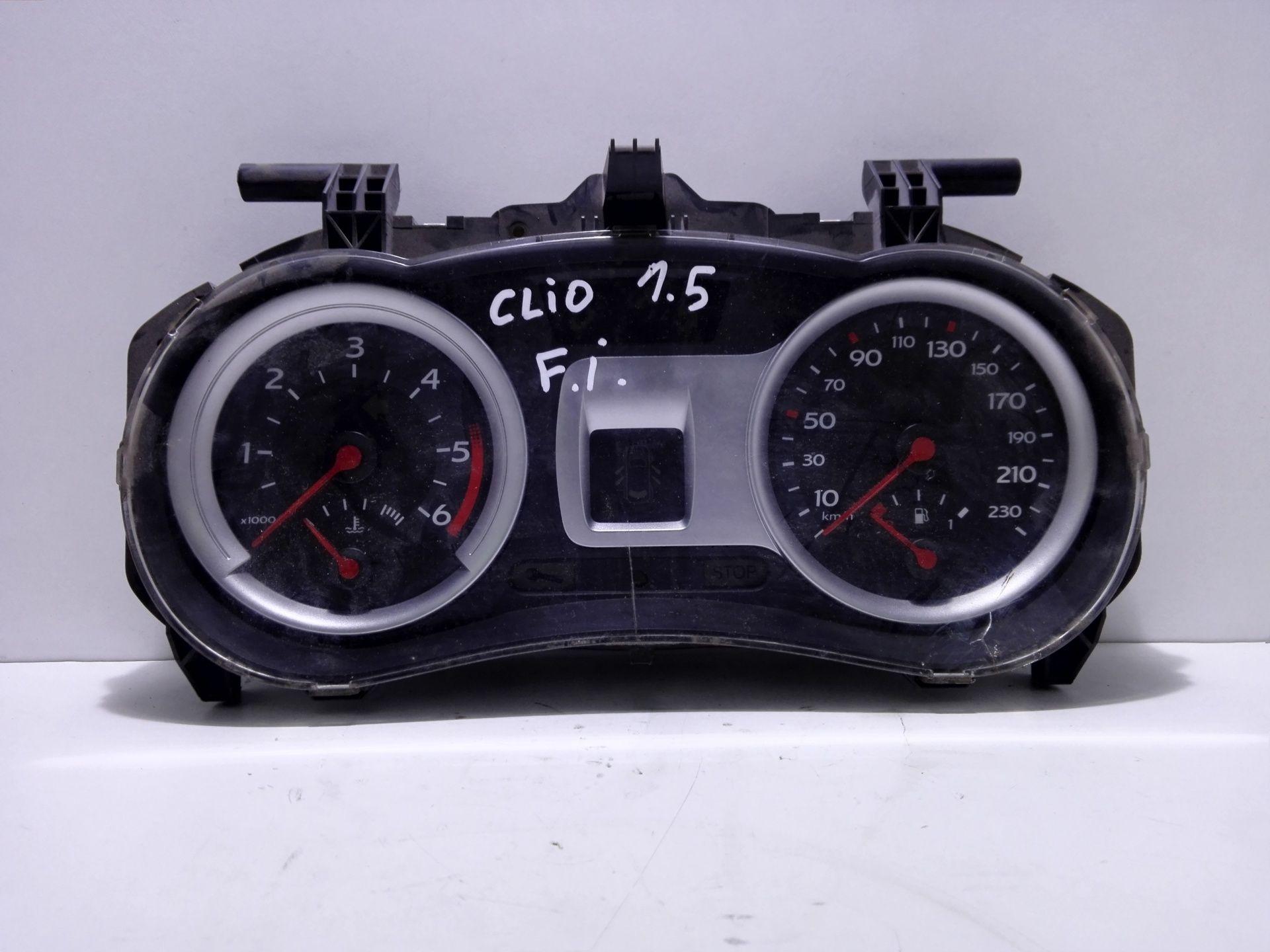 8200761861N QUADRO STRUMENTI RENAULT Clio Serie (04>08) 1500 Diesel  (2007) RICAMBI USATI