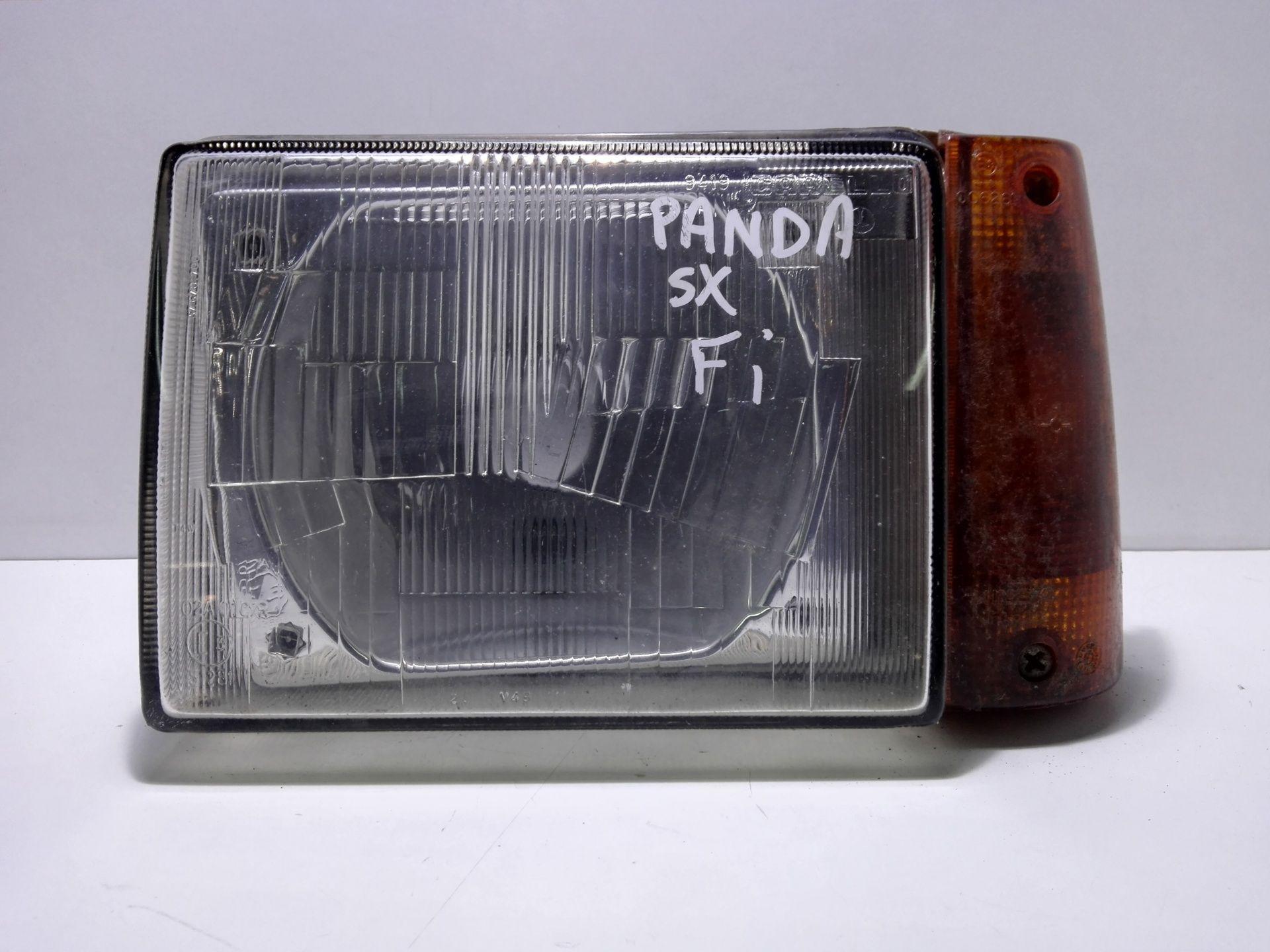 FARO ANTERIORE SINISTRO GUIDA FIAT Panda 1° Serie 900 Benzina  (1999) RICAMBI USATI