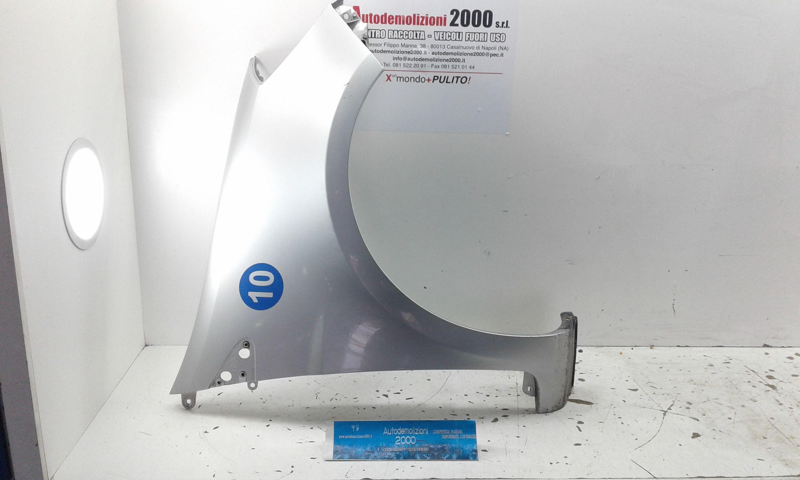 PARAFANGO ANTERIORE DESTRO RENAULT Clio Serie (04>08) Benzina (2007) RICAMBI USATI