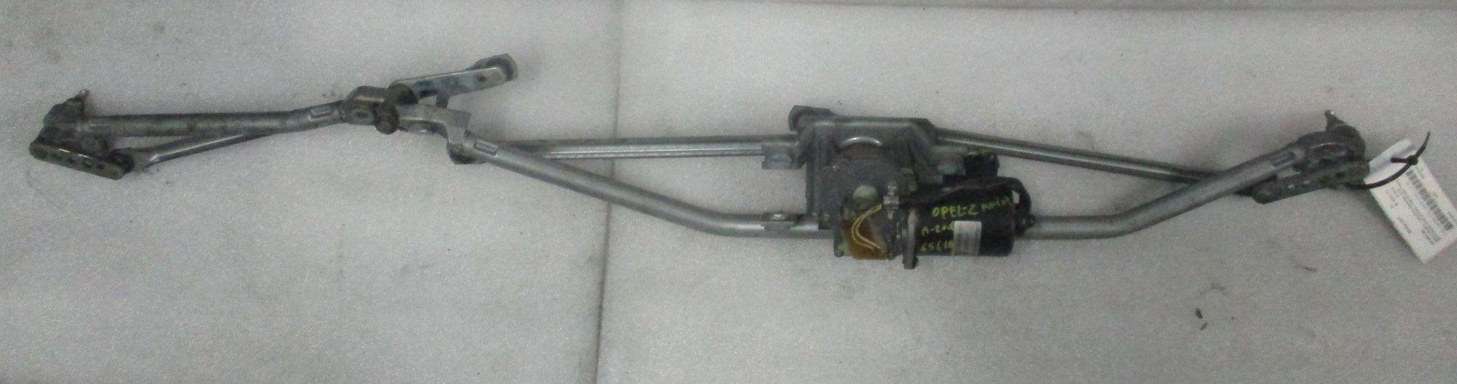 MOTORINO TERGI ANT COMPLETO DI TANDEM OPEL Zafira A Benzina (2001) RICAMBI USATI