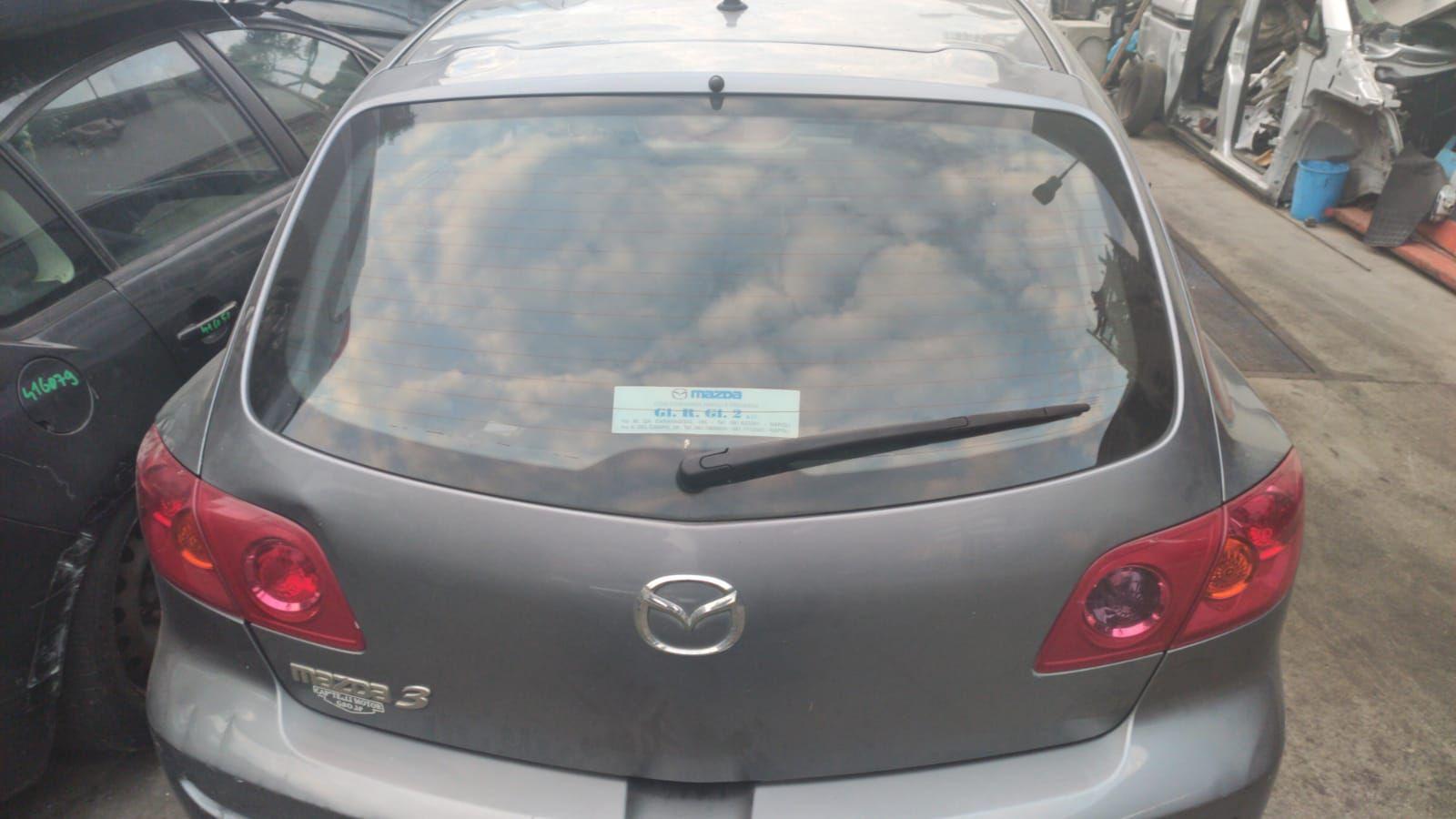 PORTELLONE POSTERIORE COMPLETO MAZDA 3 Berlina 1° Serie 1600 Benzina  (2006) RICAMBI USATI