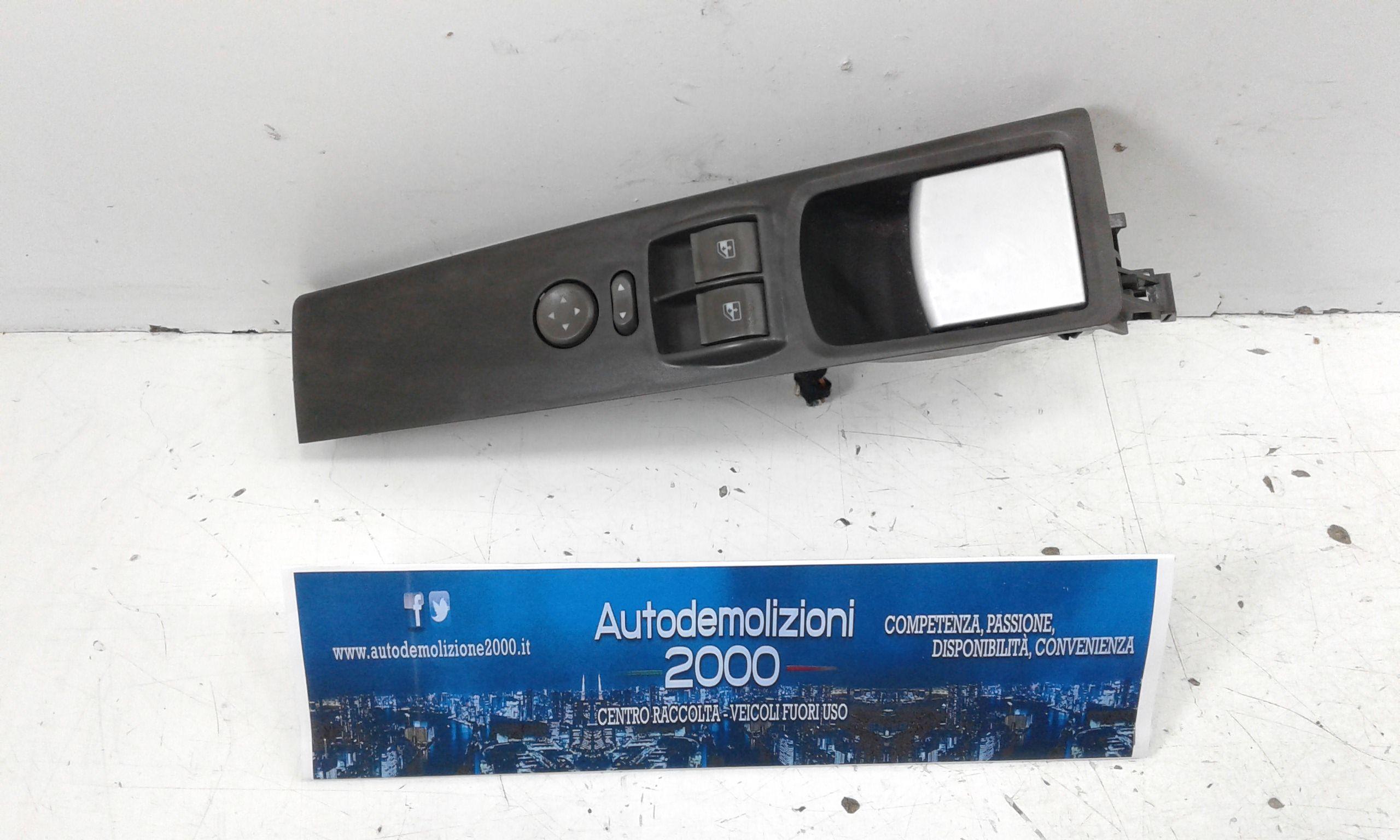 PULSANTIERA ANTERIORE SINISTRA GUIDA FIAT Idea 2° Serie Benzina  (2005) RICAMBI USATI