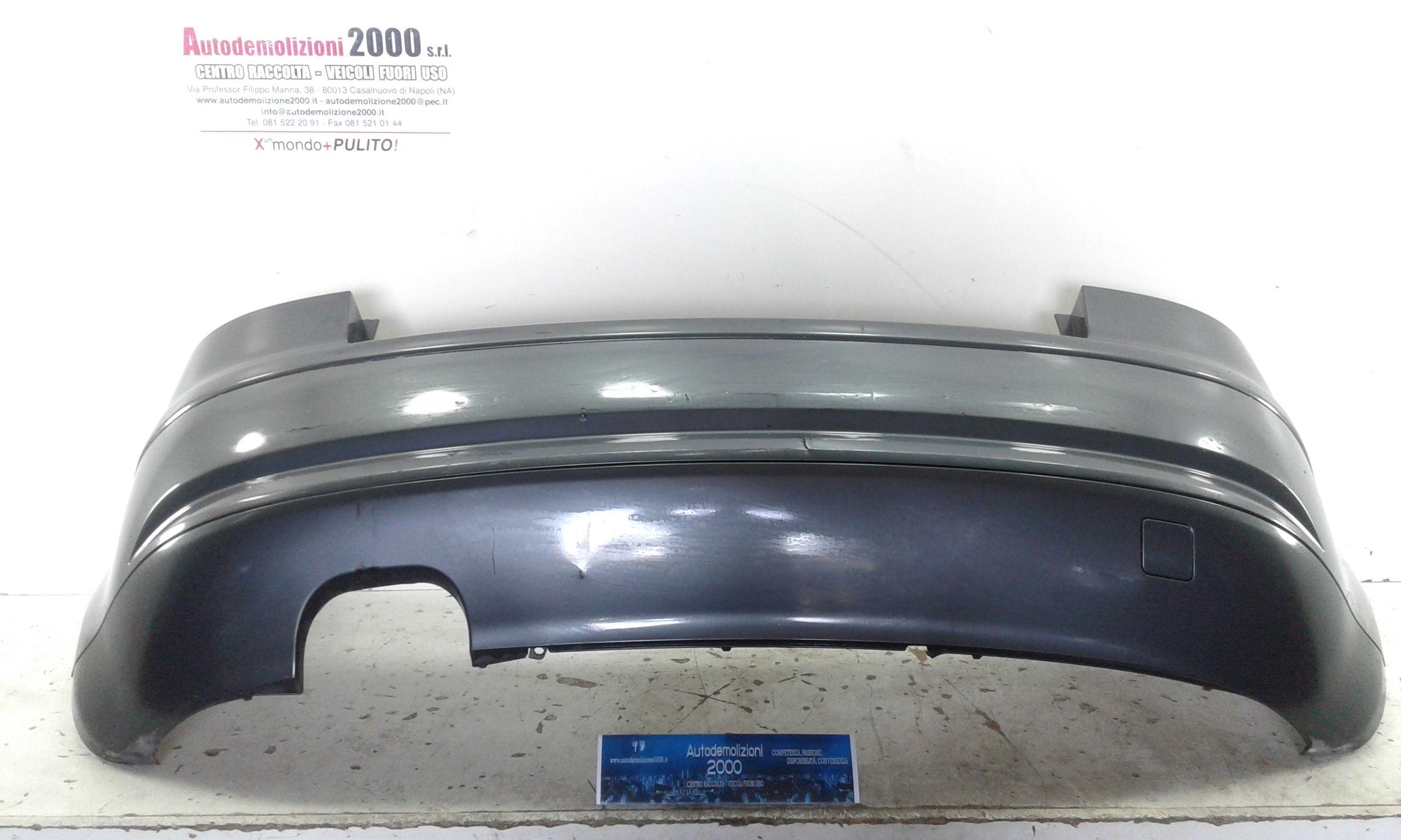 PARAURTI POSTERIORE COMPLETO AUDI A3 Serie (8P) Benzina (2006) RICAMBI USATI