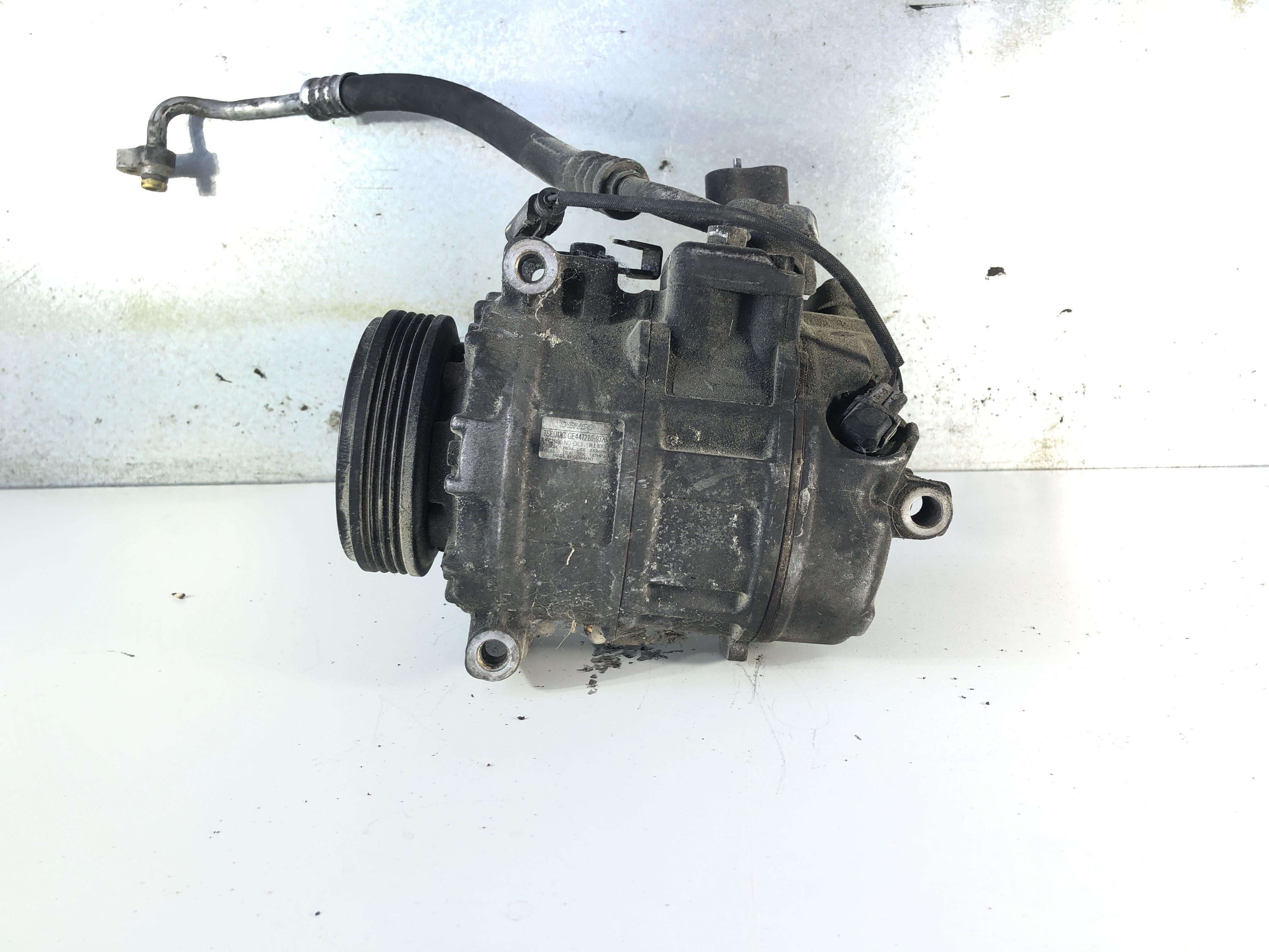 447220-9370 COMPRESSORE A/C BMW Serie 5 E60 3000 Diesel (2006) RICAMBI USATI