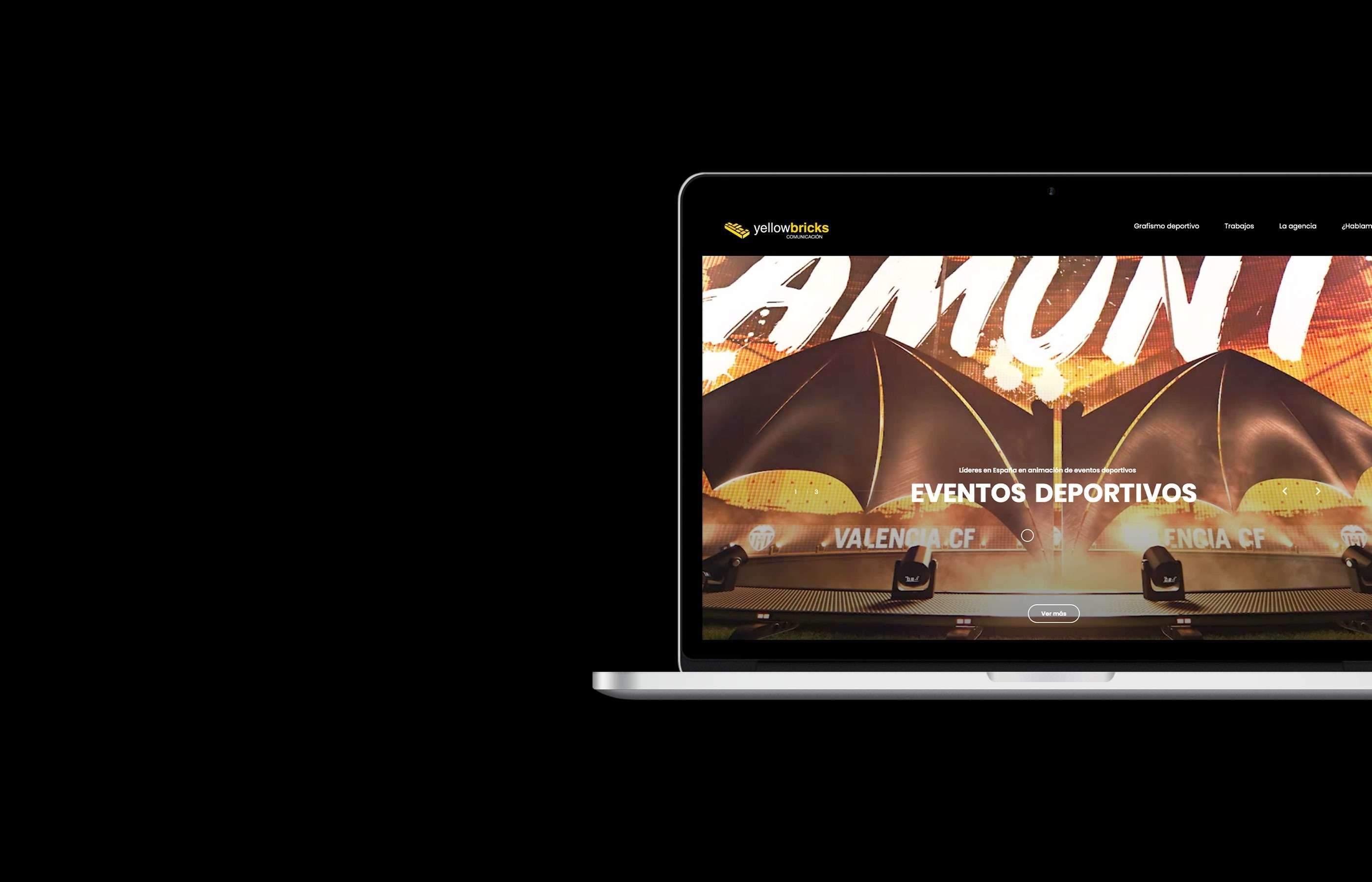 Diseño web para Yellowbricks