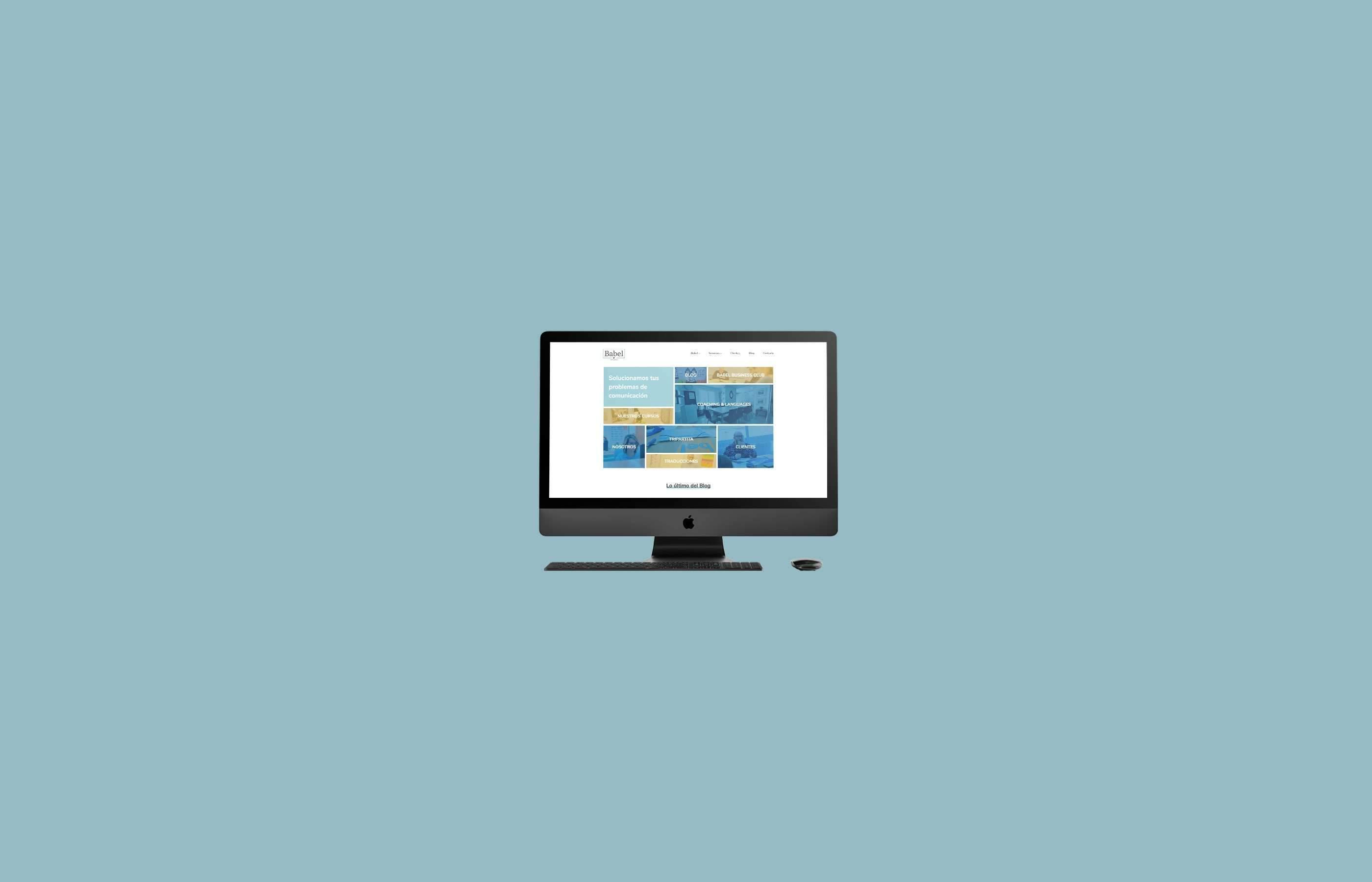 Diseño Web Babel Business
