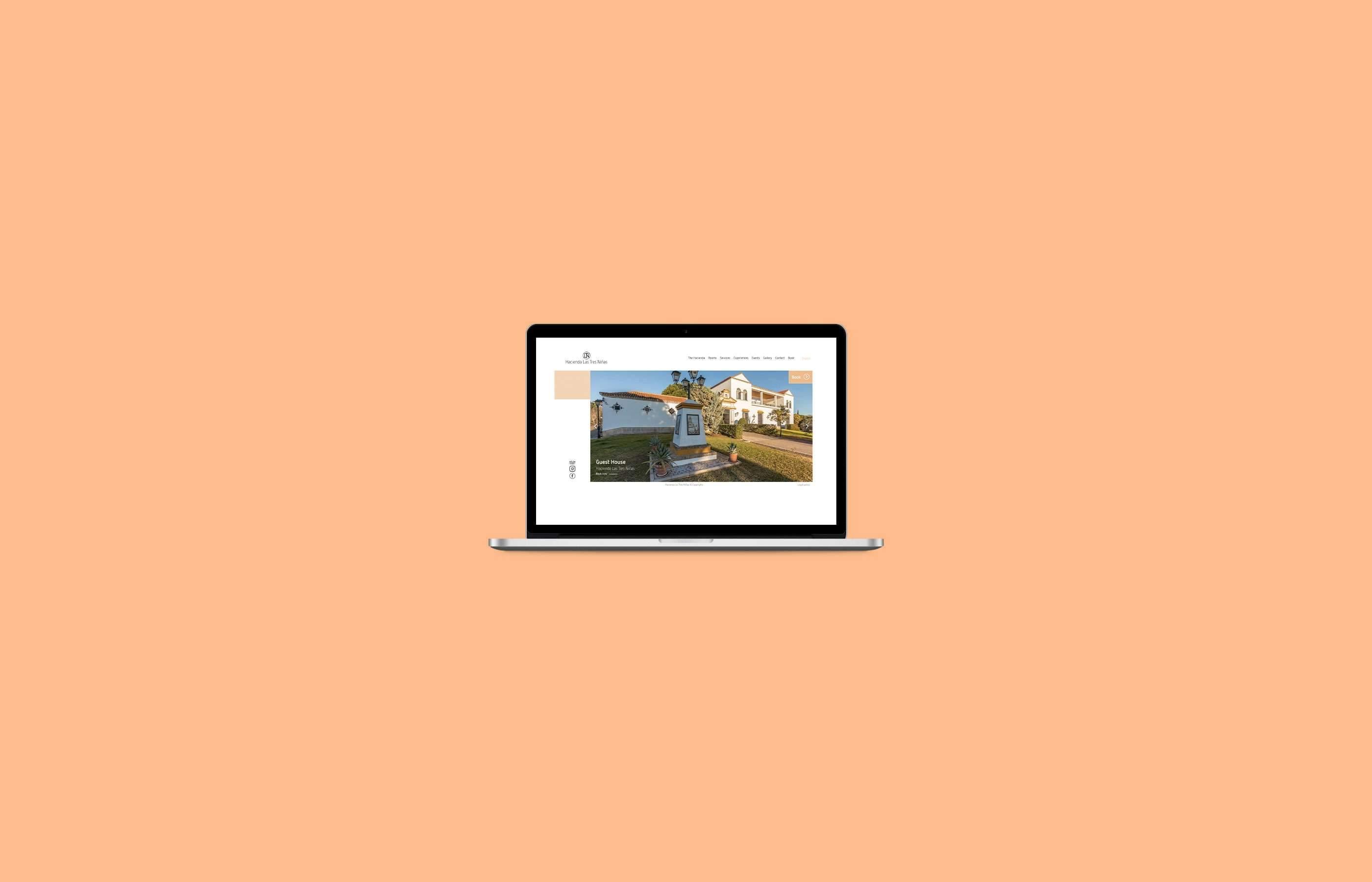 Diseño web Hacienda Las Tres Niñas