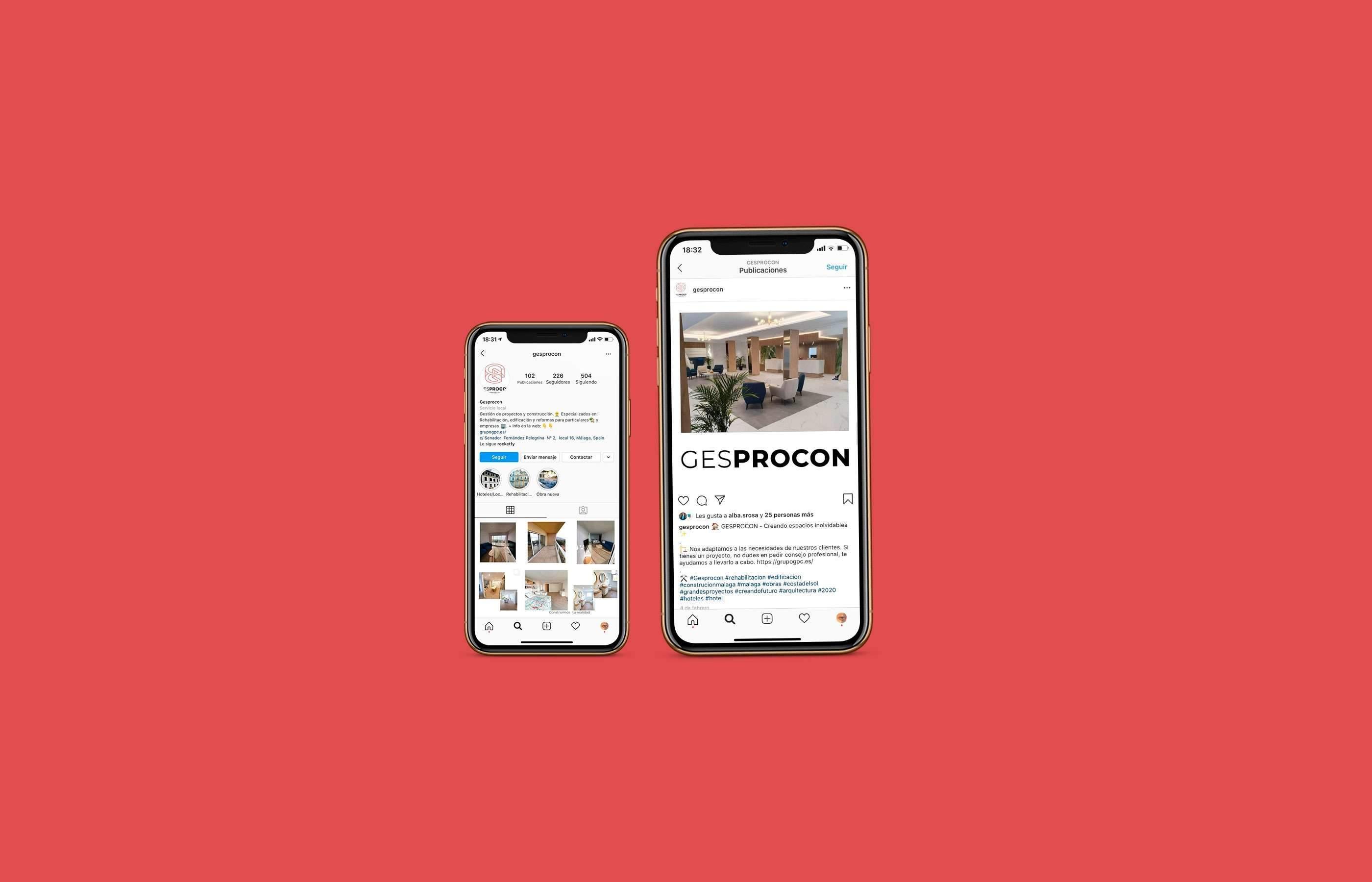 Marketing digital de Gesprocon