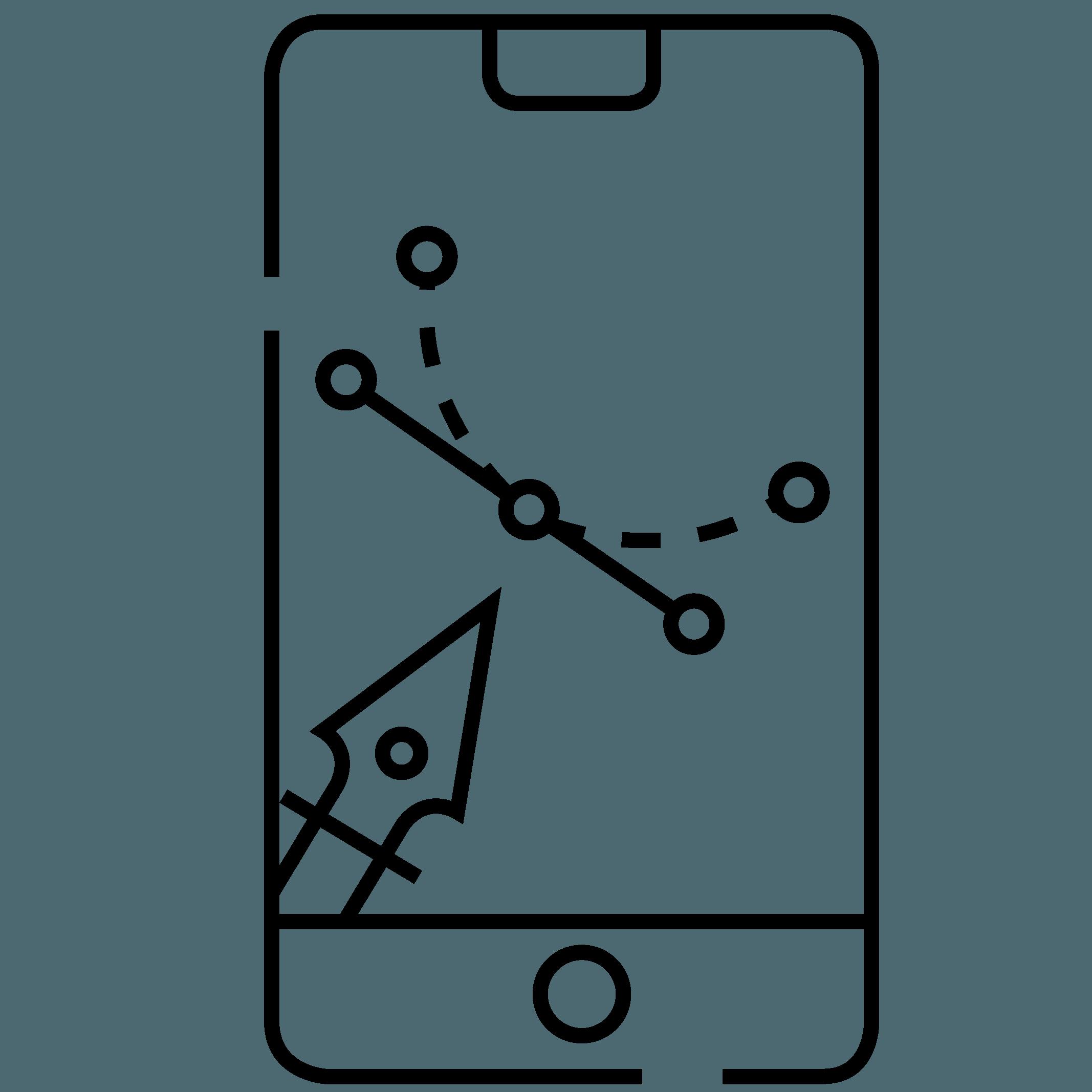 El diseño gráfico de la app