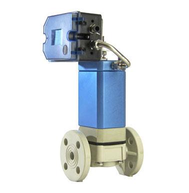 Needle flow control valve