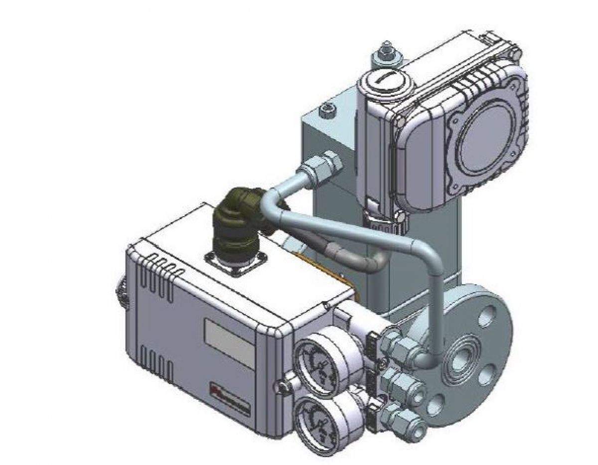 Drawing control valve