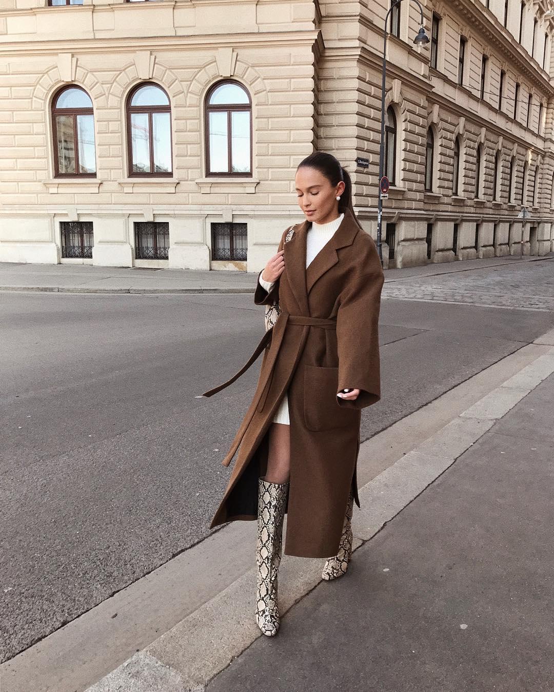 belt coat de Zara sur majamarko7