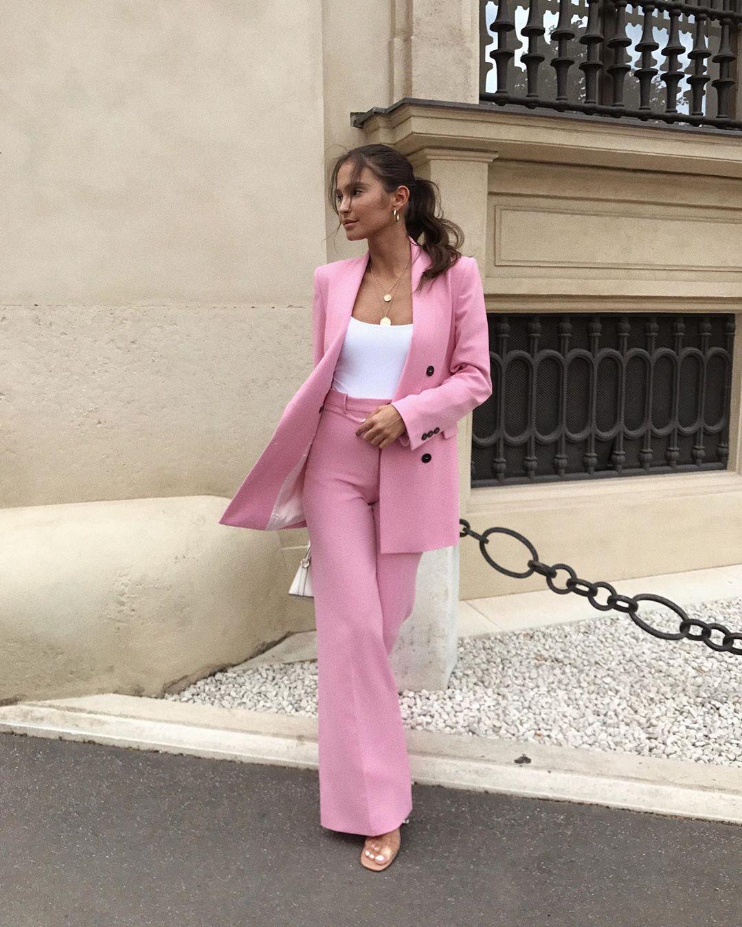 straight pants de Zara sur majamarko7