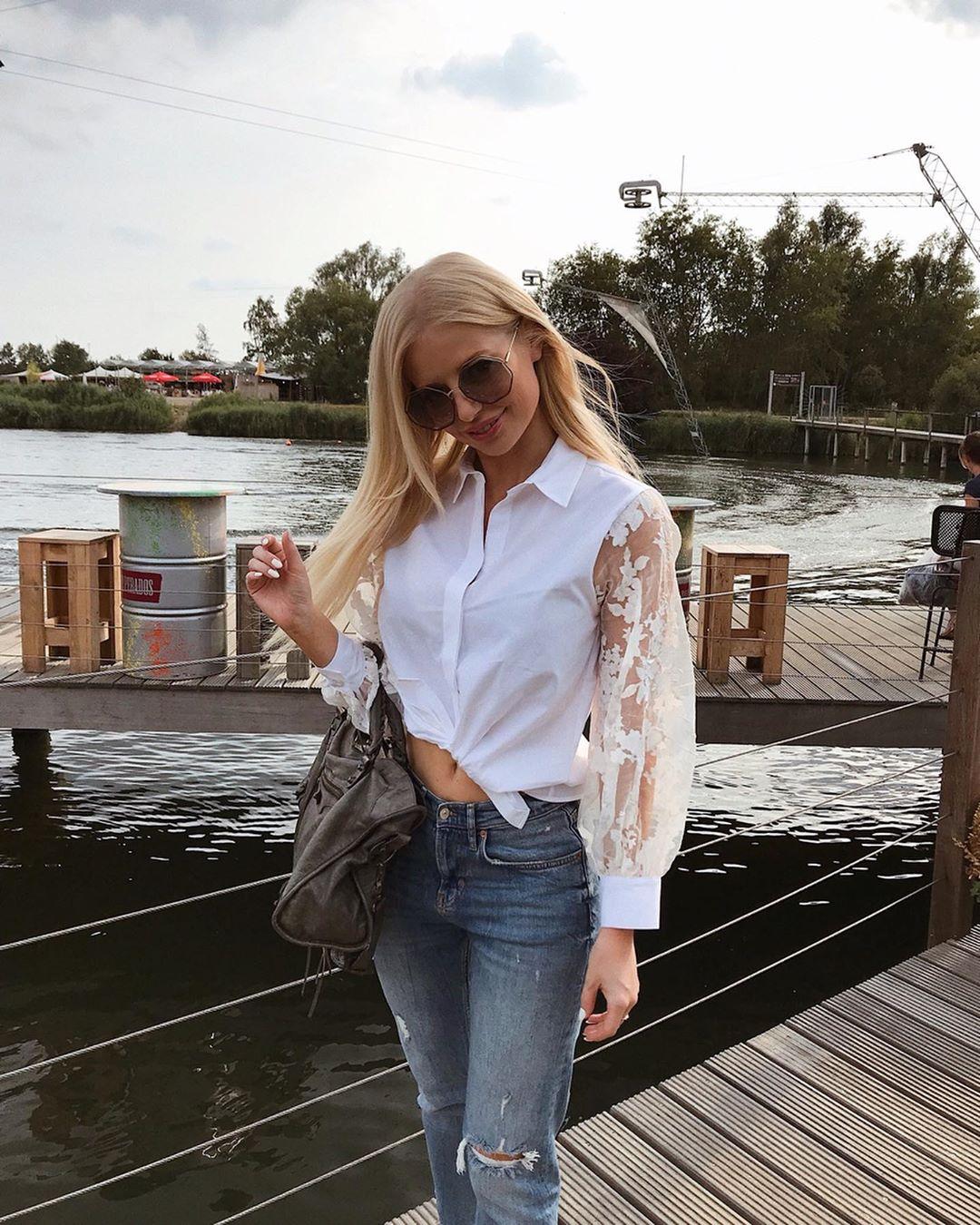 chemise avec manches en organza de Zara sur annabelpesant