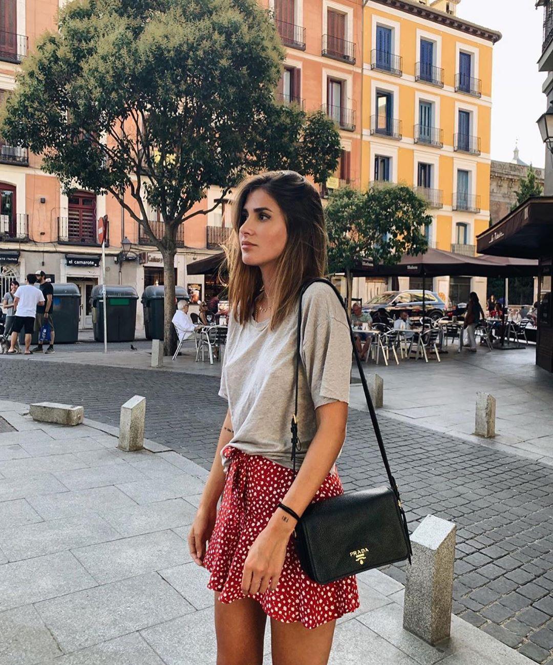 waistband skirt-shorts de Zara sur zarastreetstyle