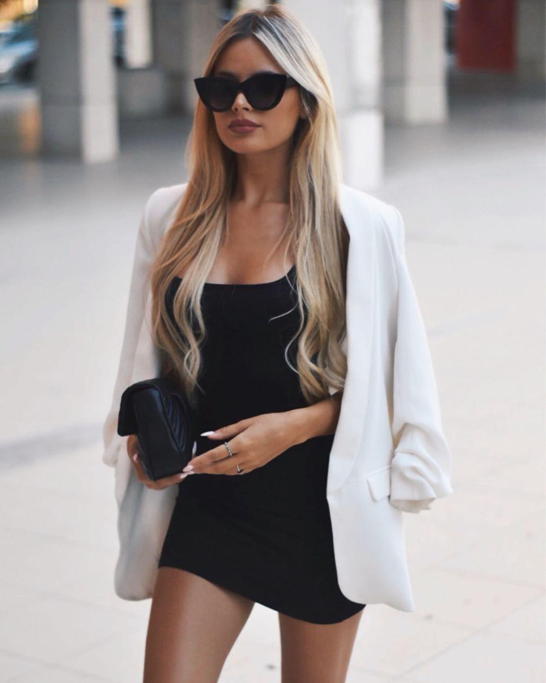 rolled up sleeve jacket de Zara sur sarahmaggioli