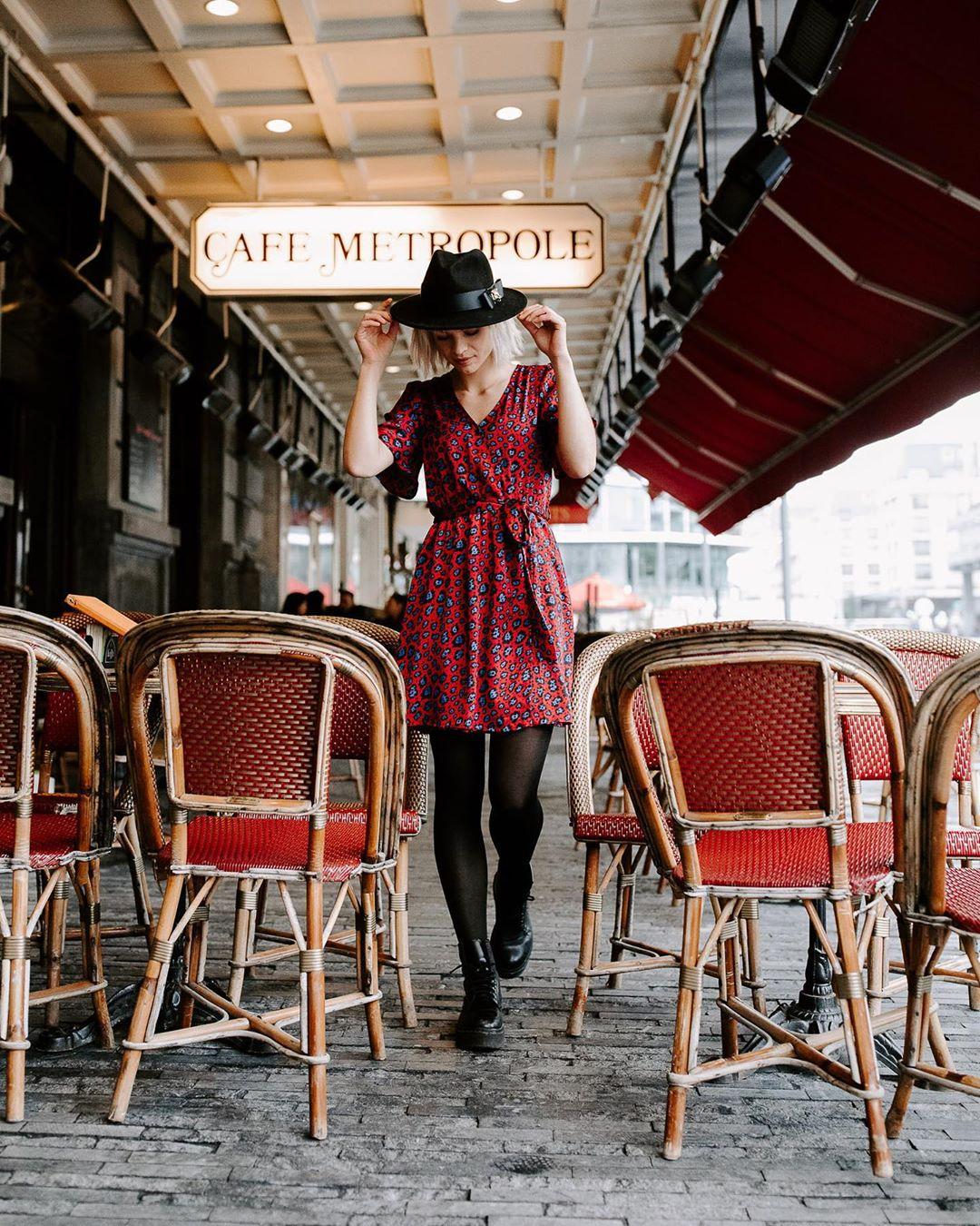 robe bordeaux leo de Les Bourgeoises sur lesbourgeoisesofficiel