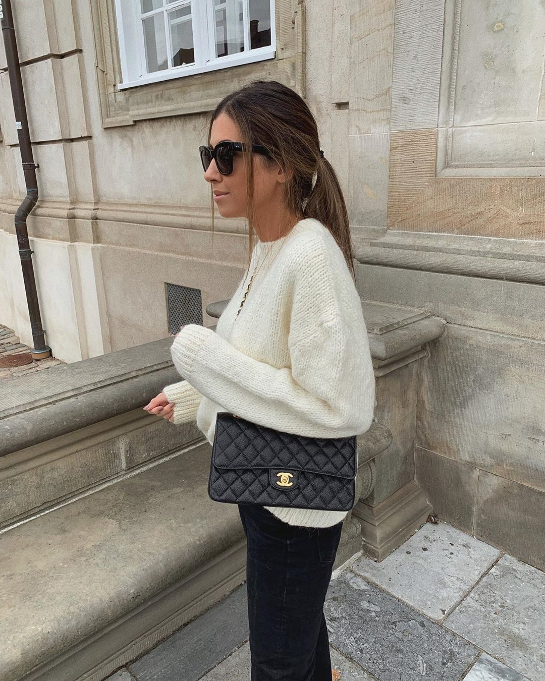 oversized sweater de Zara sur mystylebook