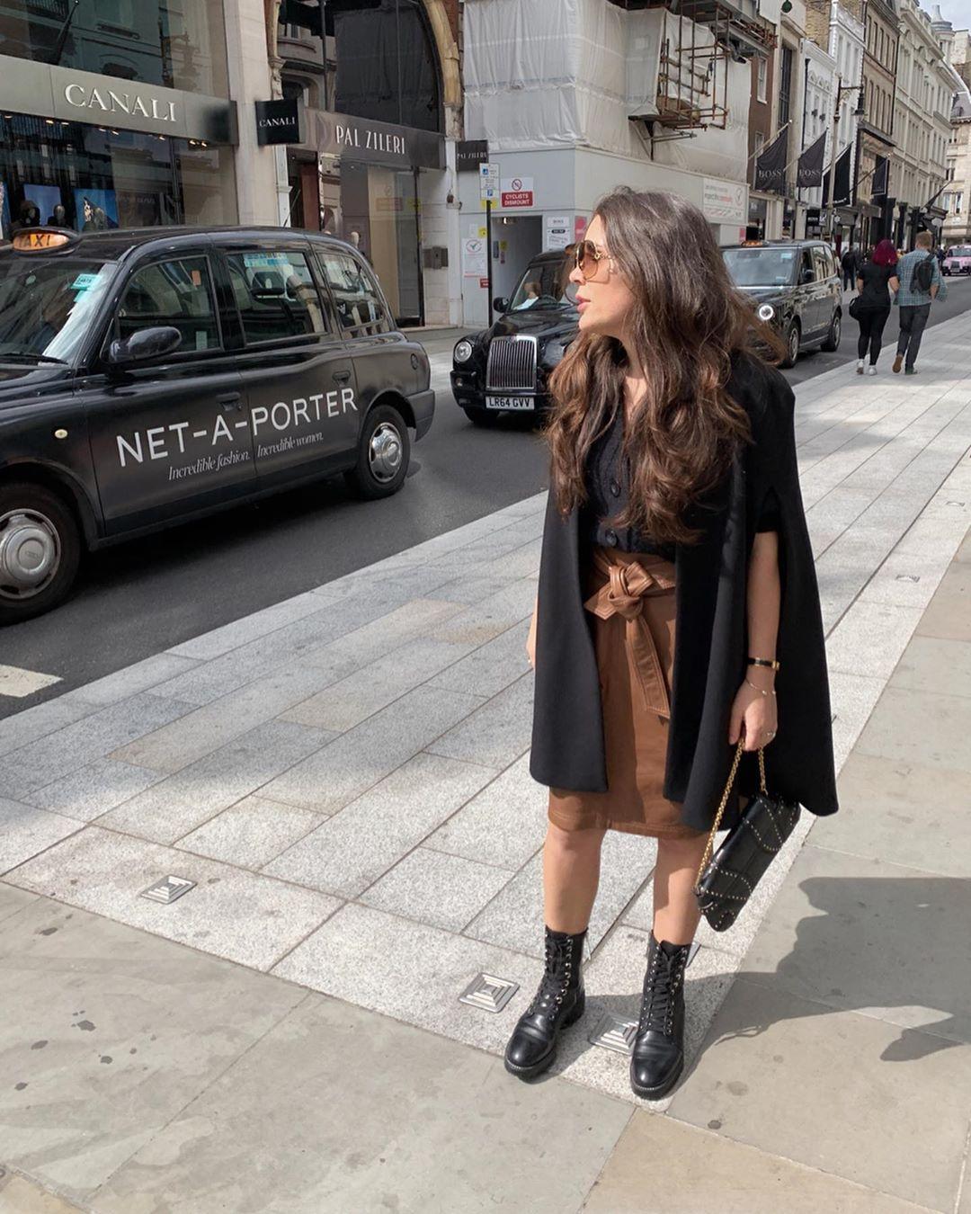 micro stud leather biker ankle boots de Zara sur elene_ldn