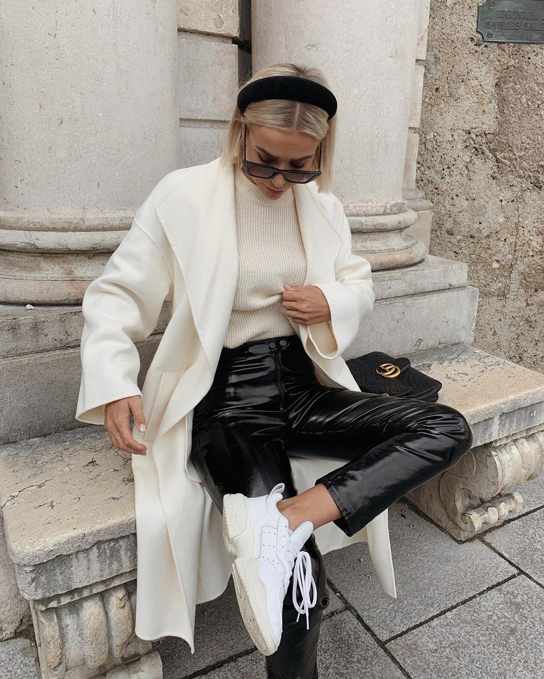 belt coat de Zara sur valentina.steinhart