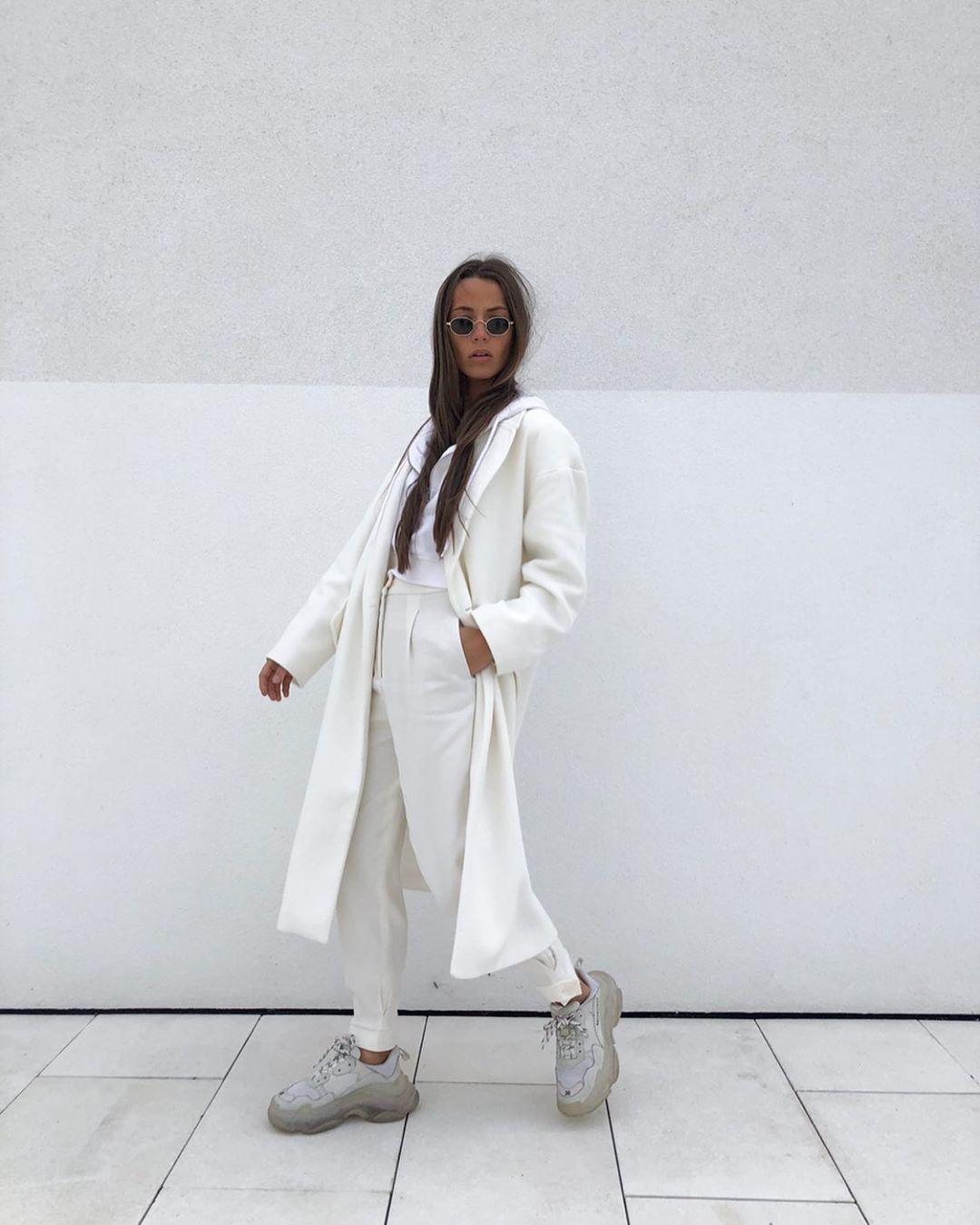 manteau à ceinture de Zara sur sachabaleriaux