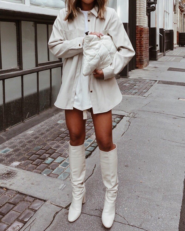 high heeled leather knee high boots de Zara sur miss_gunner
