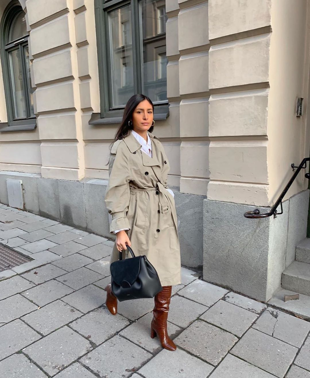 trench xl de Zara sur zara.outfits