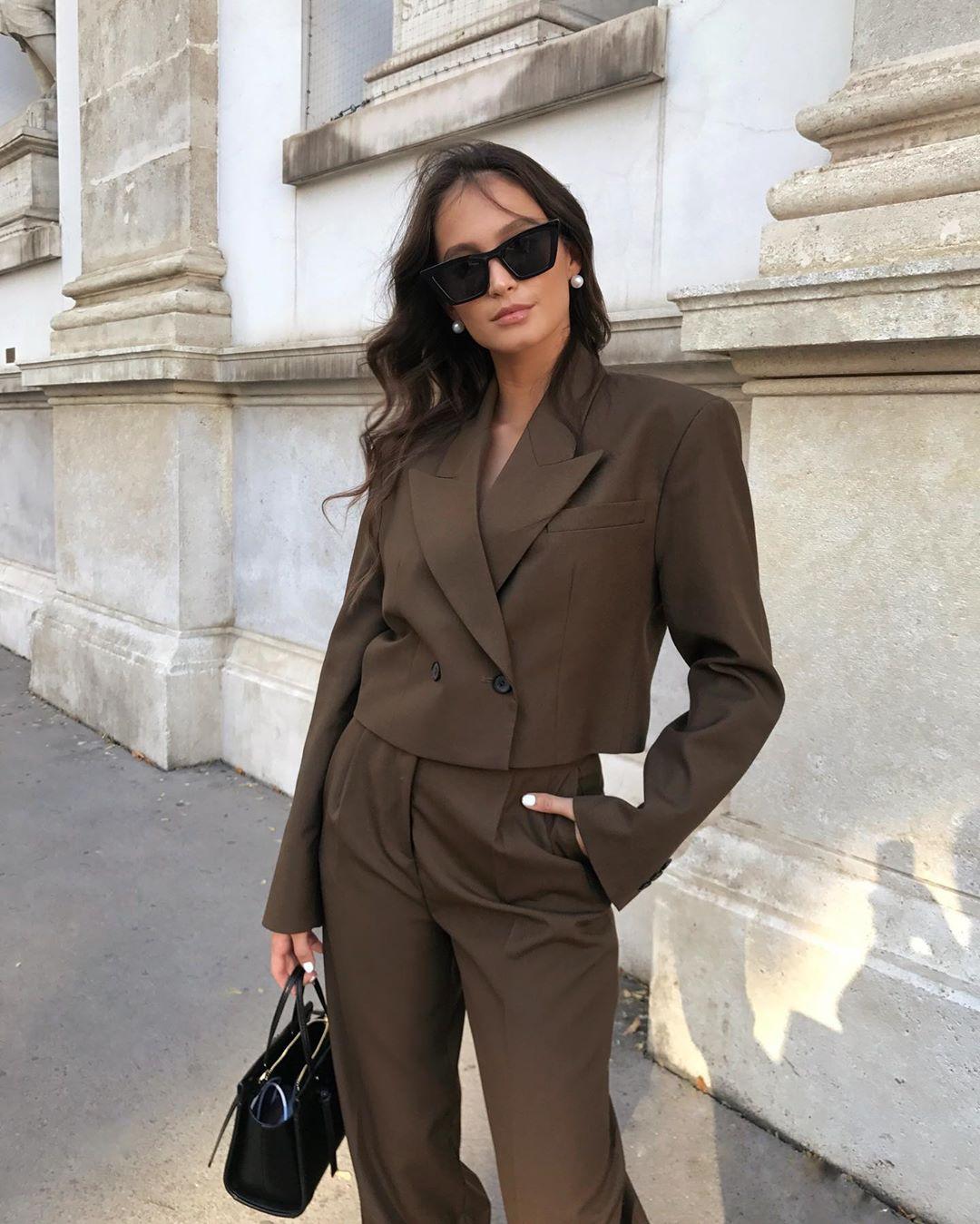 crossover breasted short jacket de Zara sur majamarko7