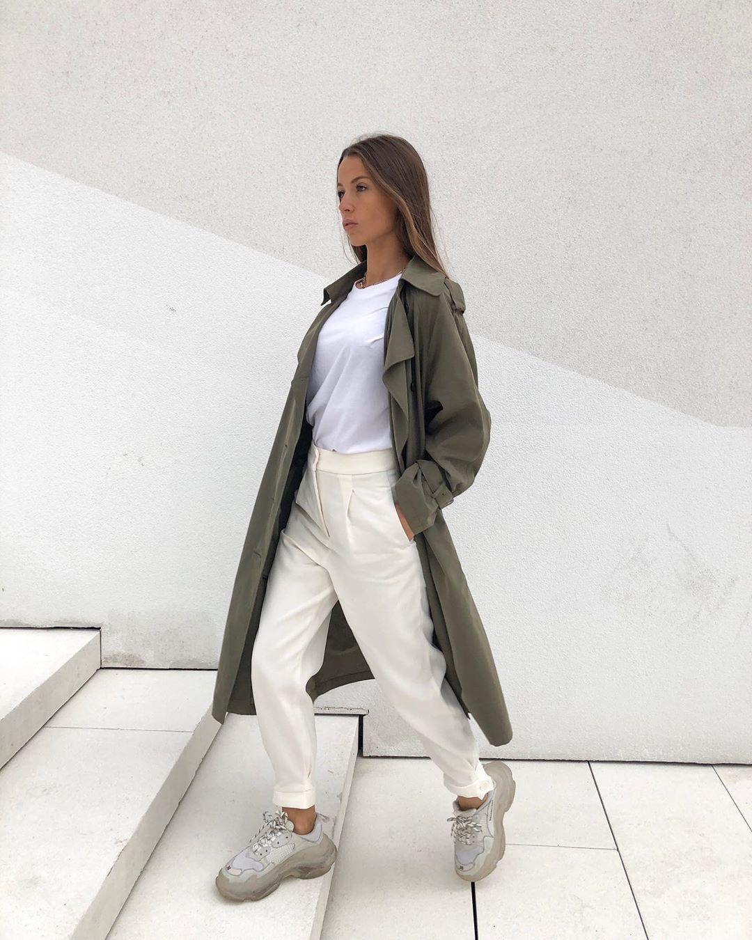pantalon à pinces de Zara sur sachabaleriaux