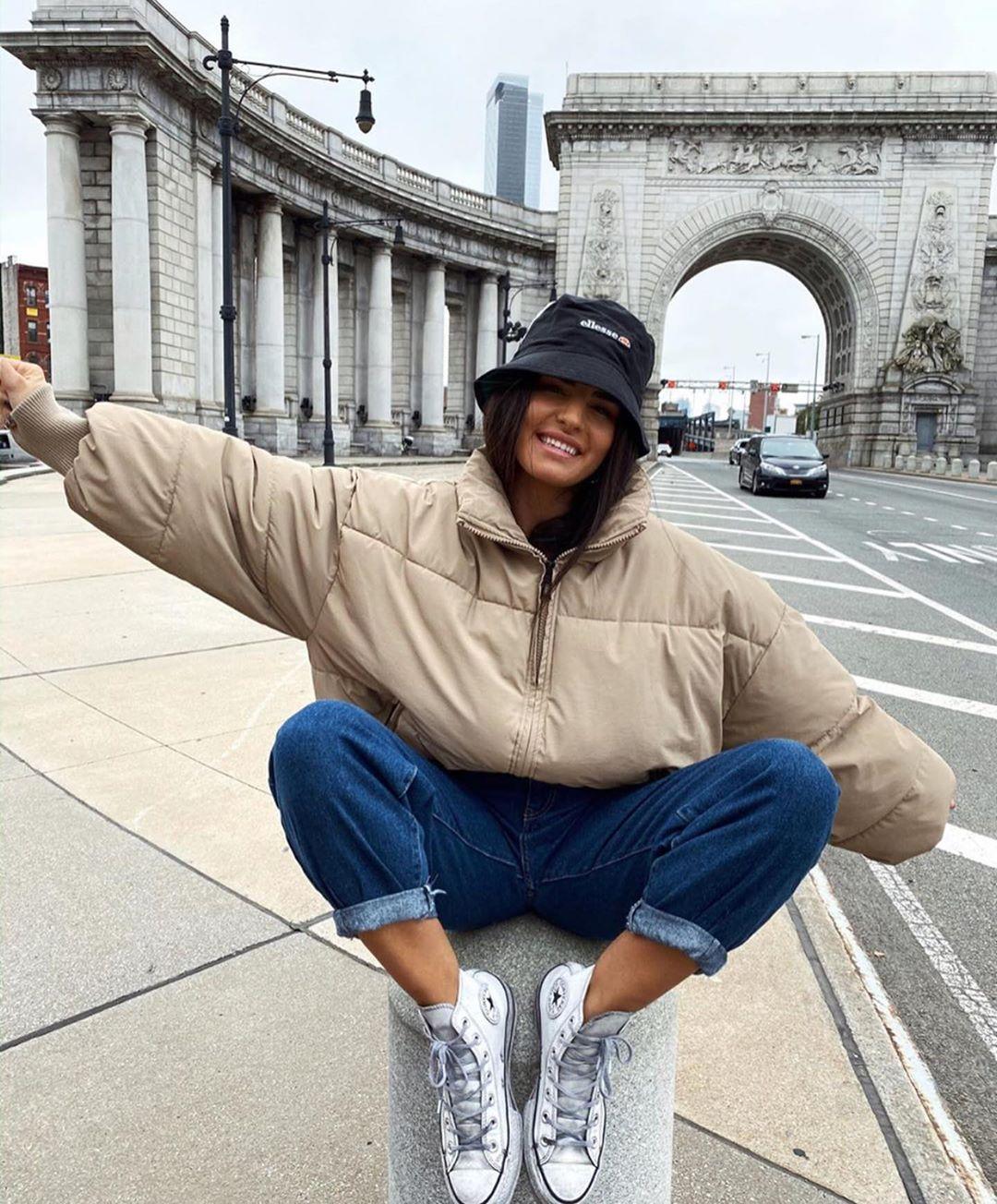 oversize padded jacket de Zara sur zaraaddiction