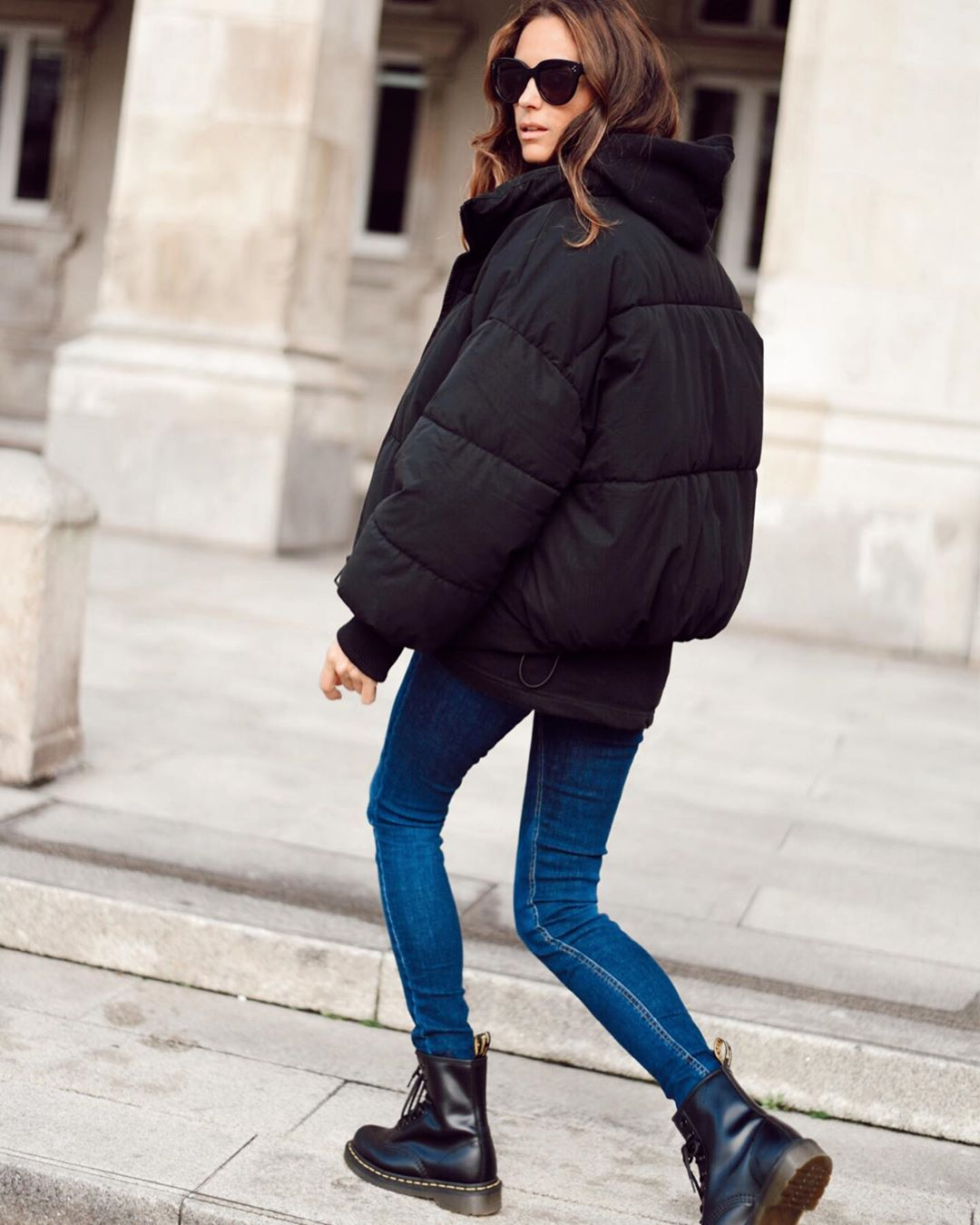 oversize padded jacket de Zara sur mariatilve