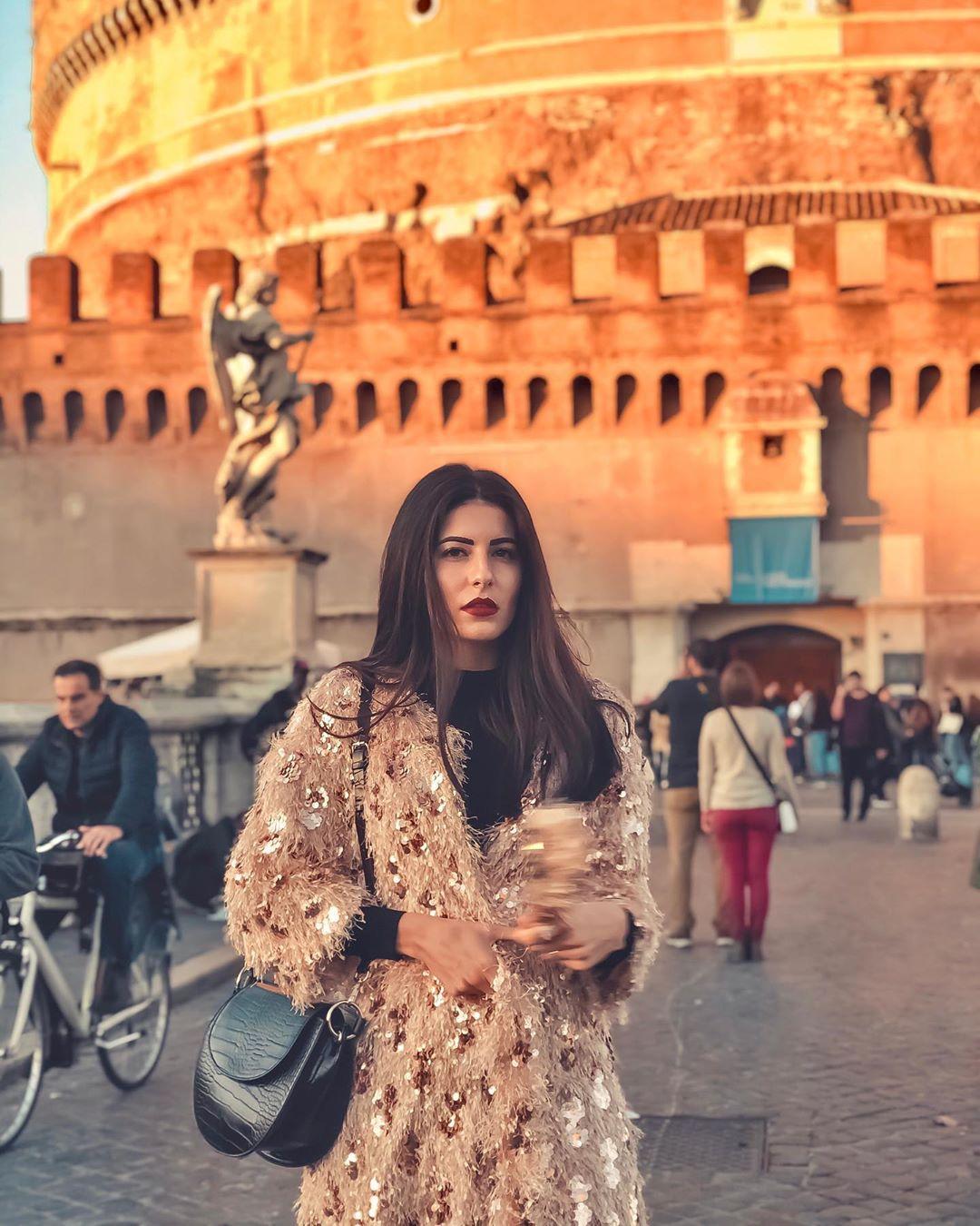 fancy sequined coat de Zara sur natascia_palladinetti