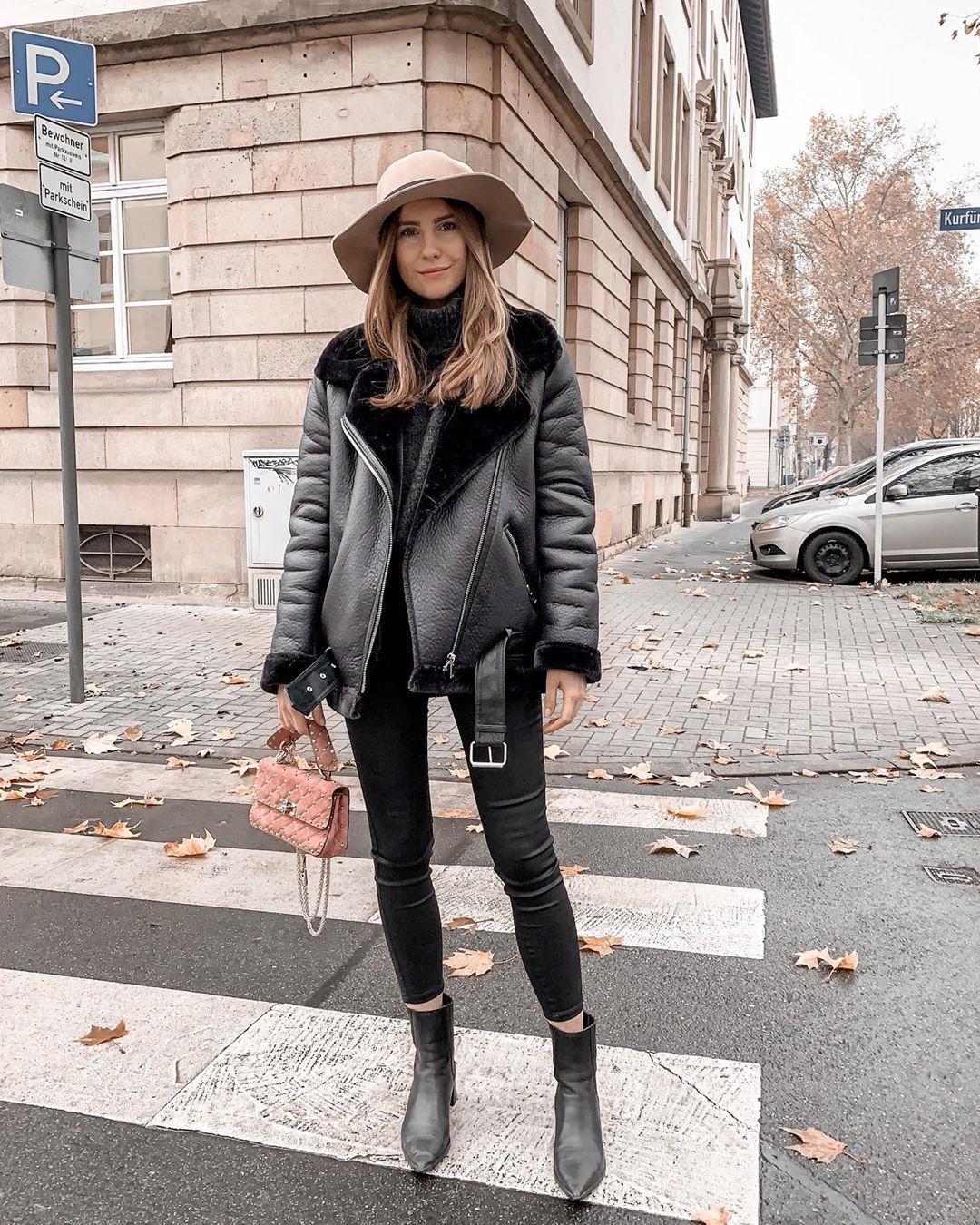double-sided biker jacket de Zara sur itscaroo