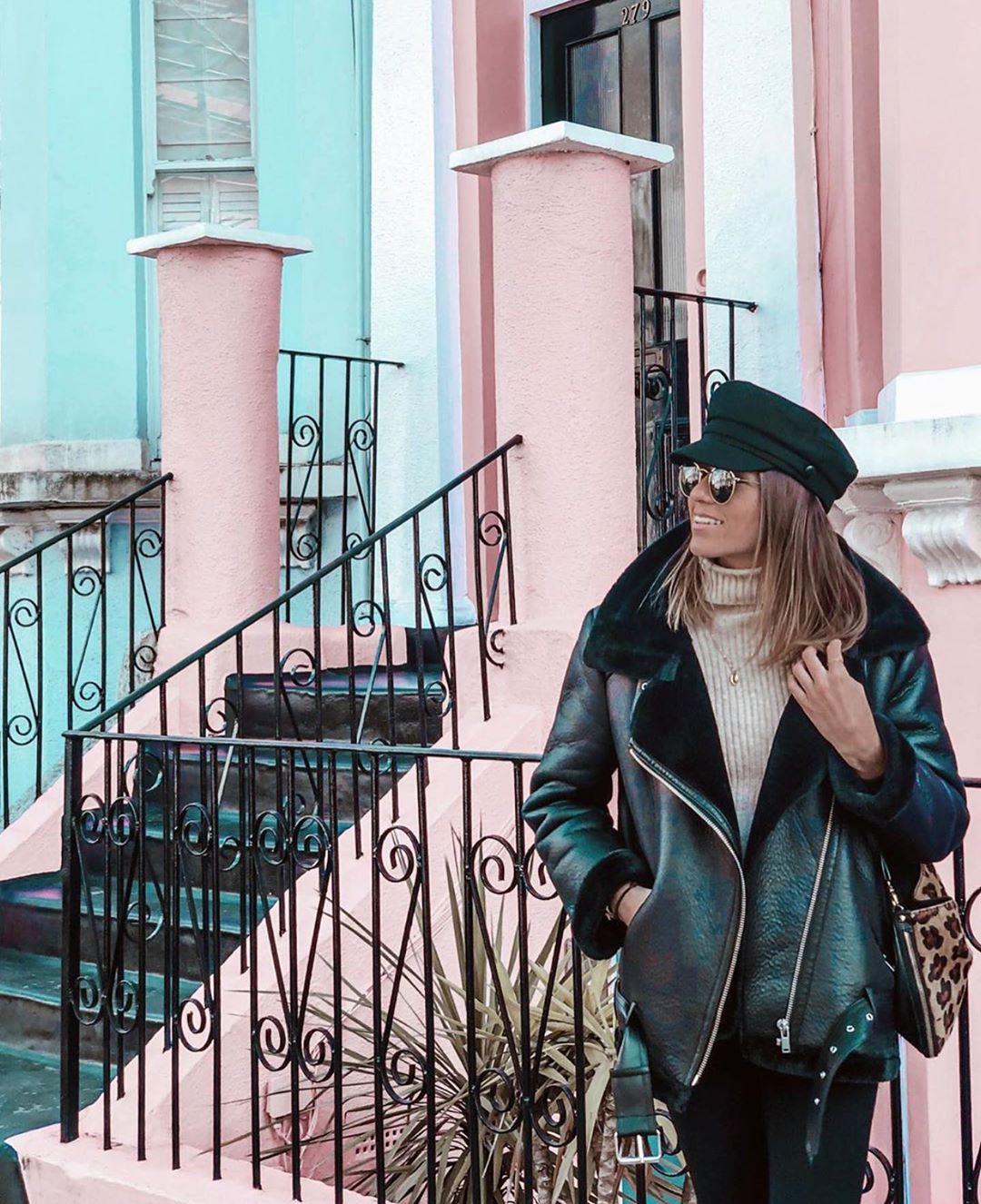 double-sided biker jacket de Zara sur zaraaddiction