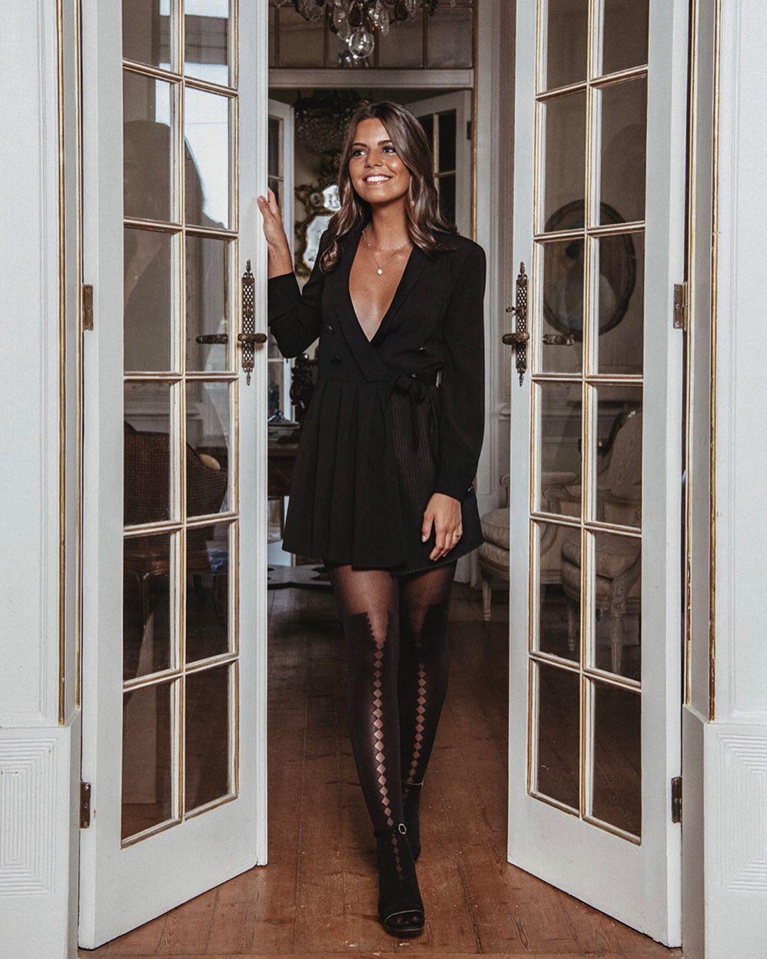 pleated dress jumpsuit de Zara sur sofiadealcantara