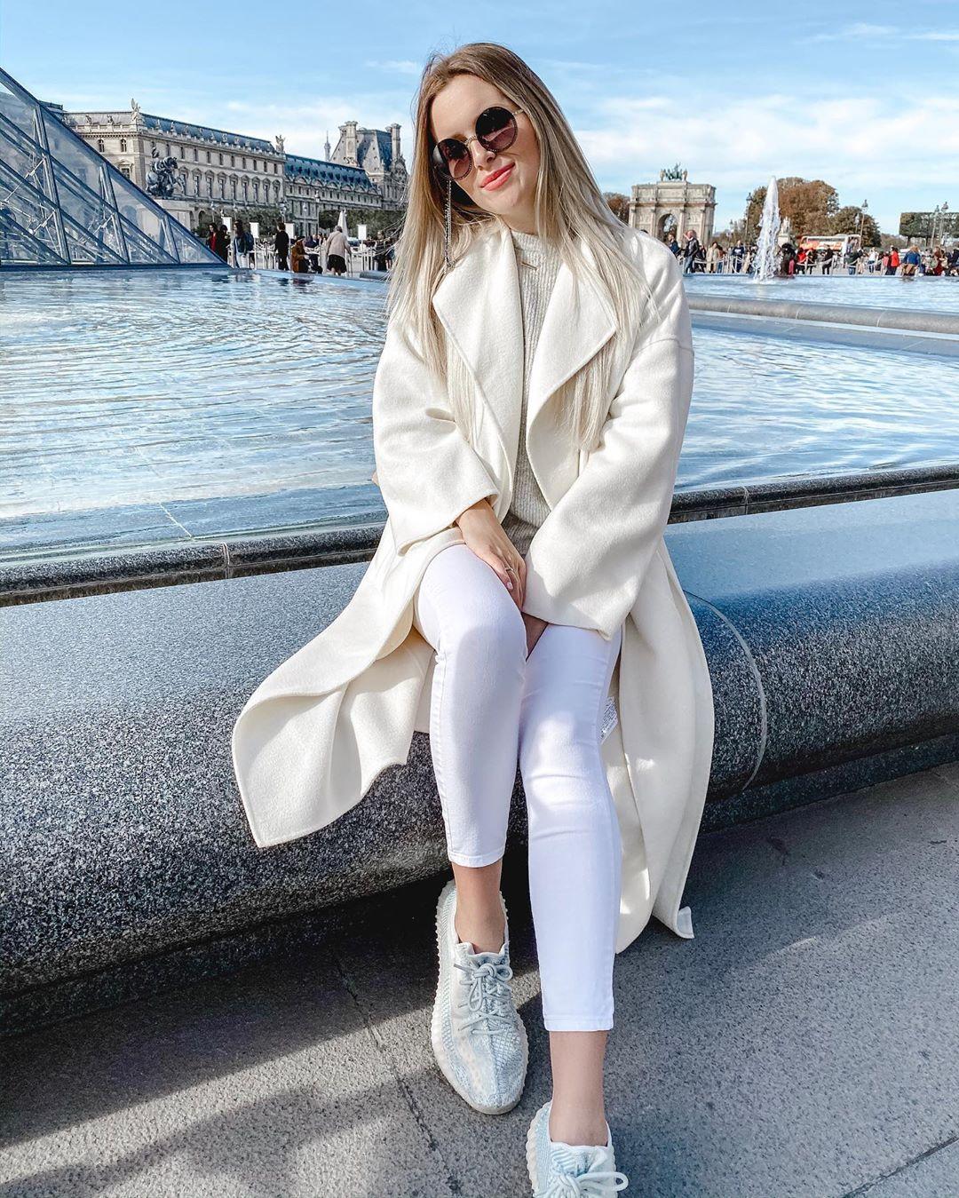 belt coat de Zara sur romesgrl_