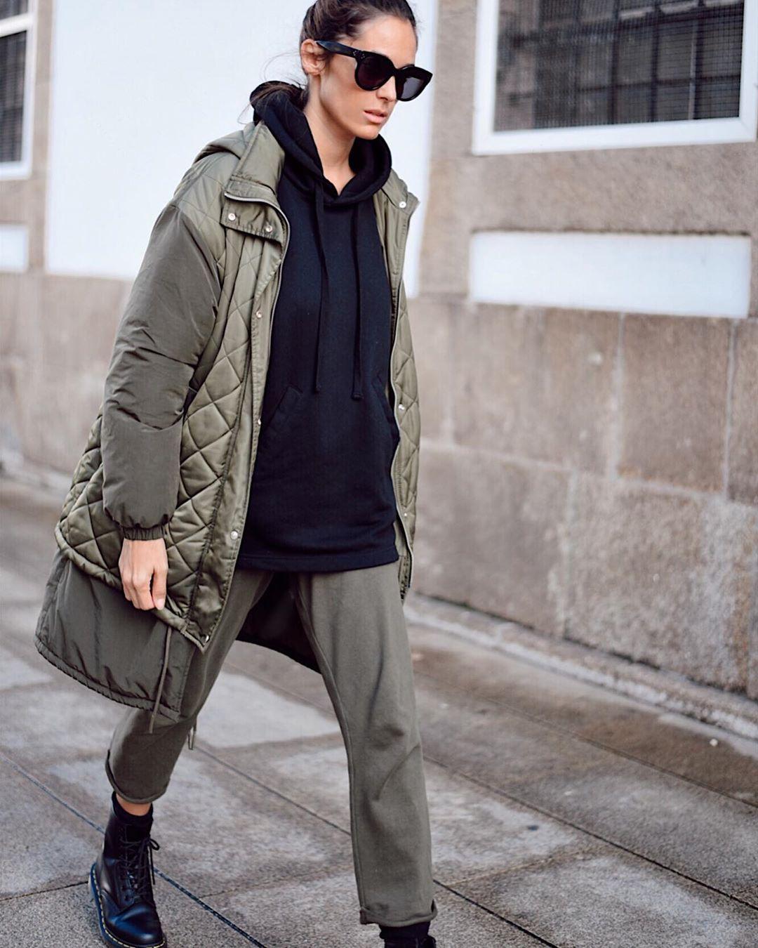 quilted jacket in various materials de Zara sur mariatilve