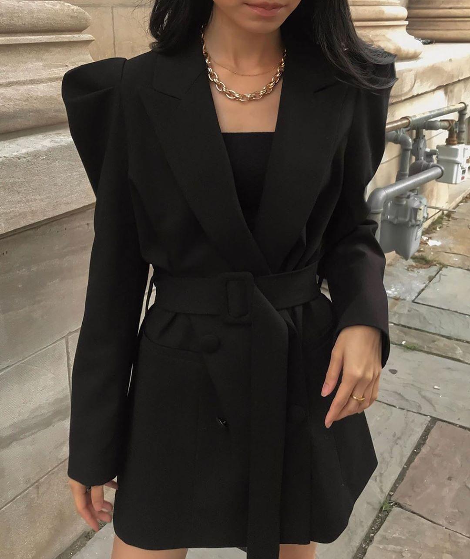 veste à manches bouffantes de Zara sur zara.outfits