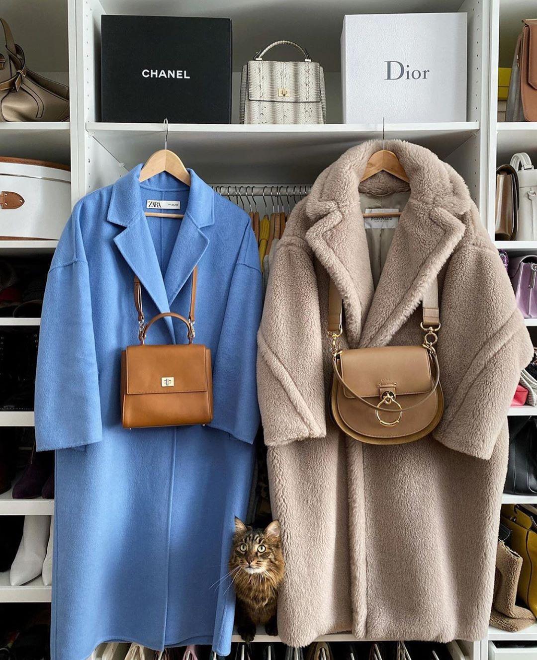 manteau oversize de Zara sur zara.mania