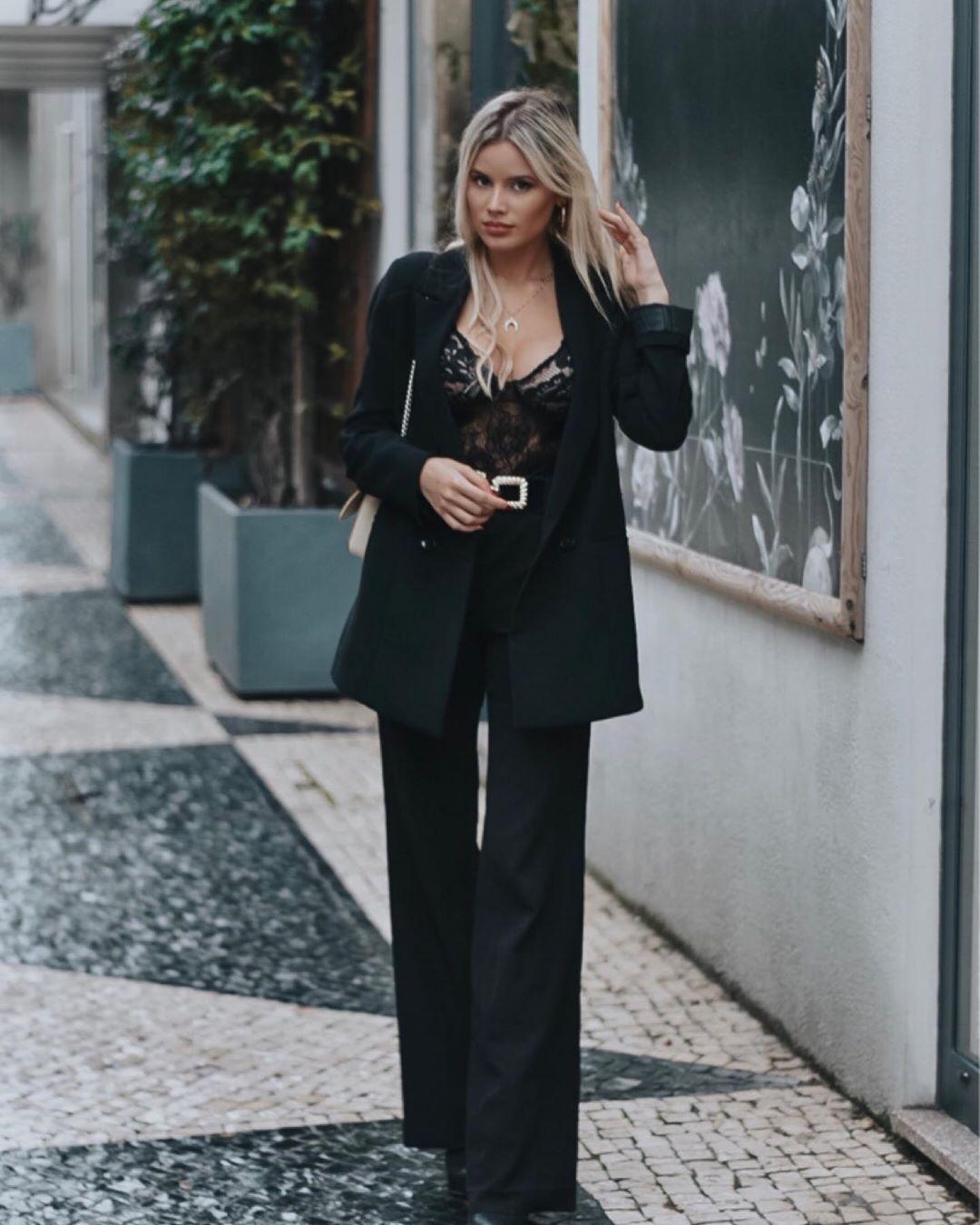 long crossover breasted jacket de Zara sur sarahmaggioli