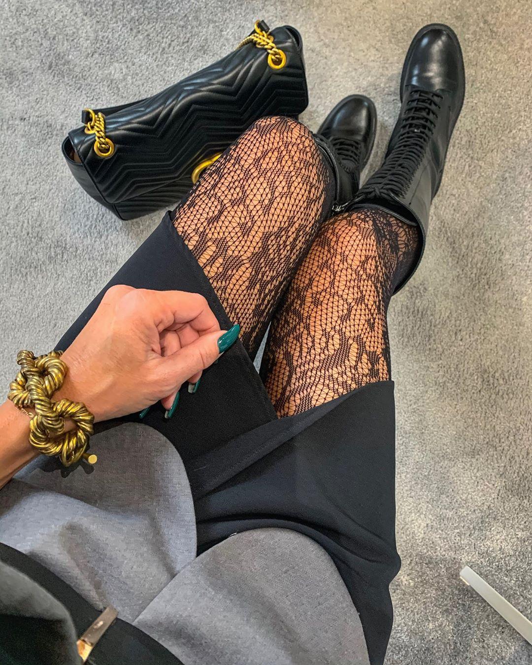 lace-up flat boots de Zara sur ew_ka1