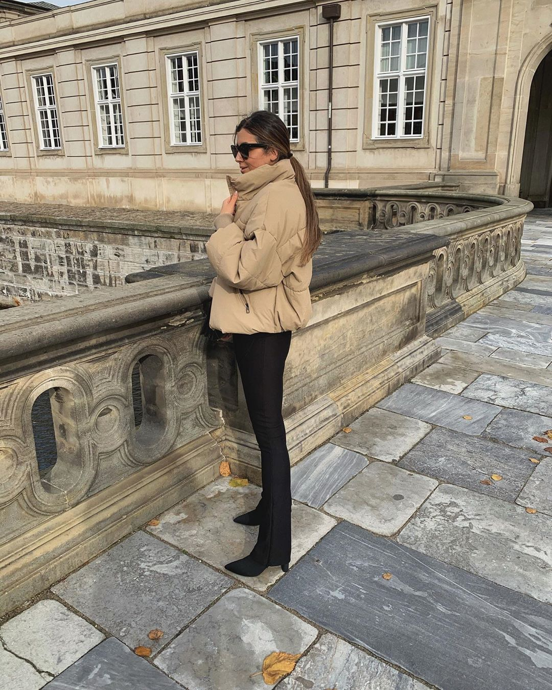 oversize padded jacket de Zara sur mystylebook