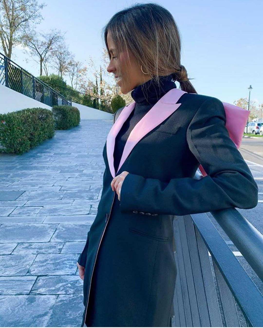 bi-aterial bow dress jacket de Zara sur zara_italy_woman