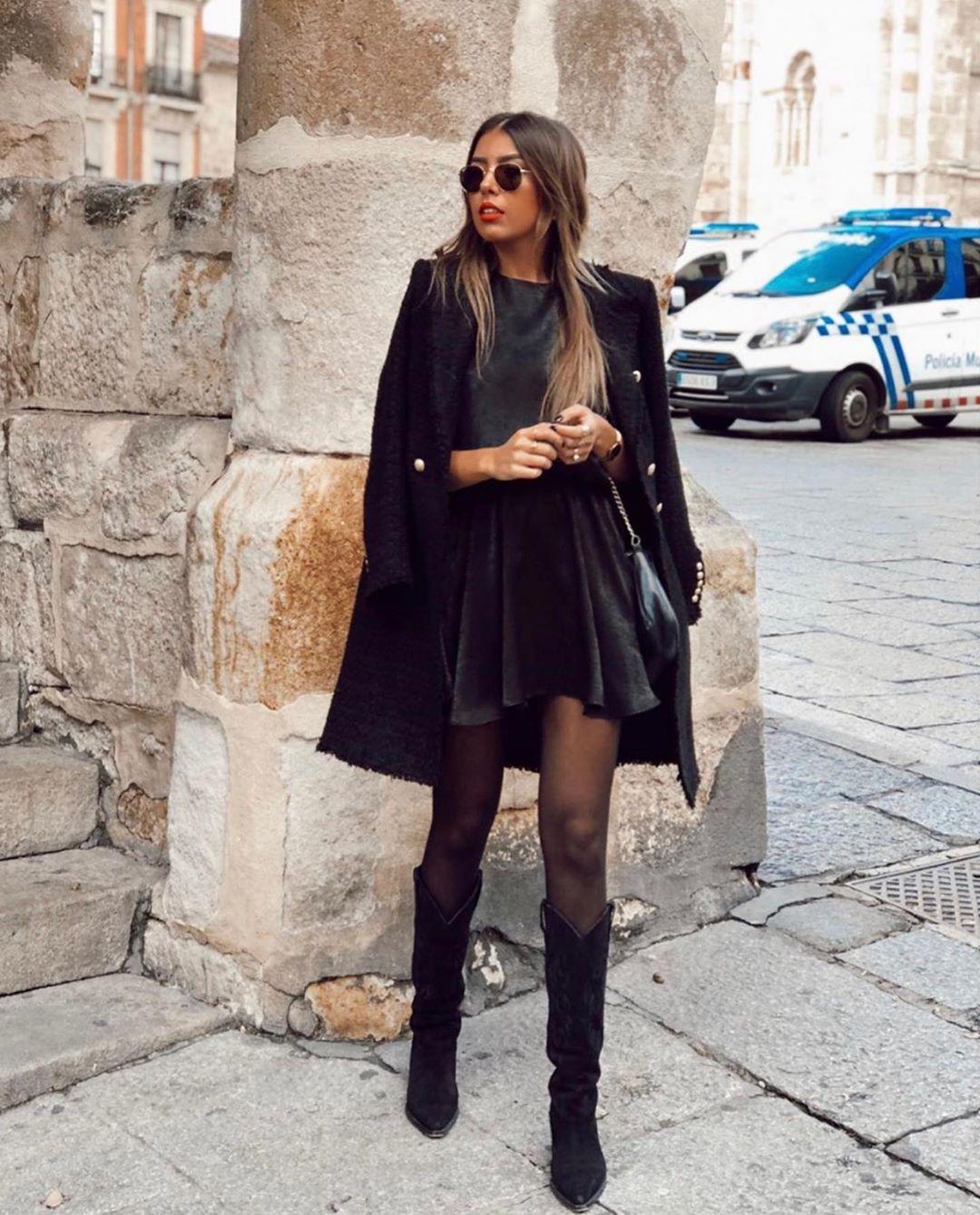 cowboy heel leather crust boots de Zara sur zaraaddiction