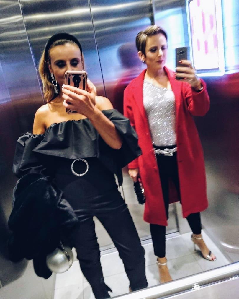 jumpsuit with ruffle de Zara sur tashaoconnor03