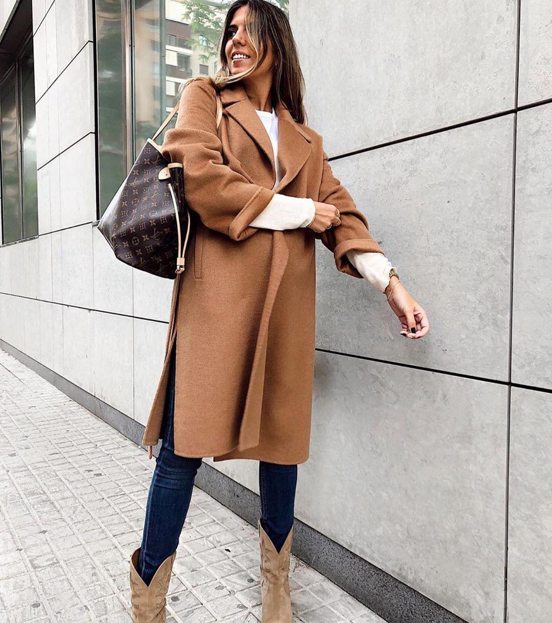 crossover breasted coat with belt de Zara sur zaraaddiction